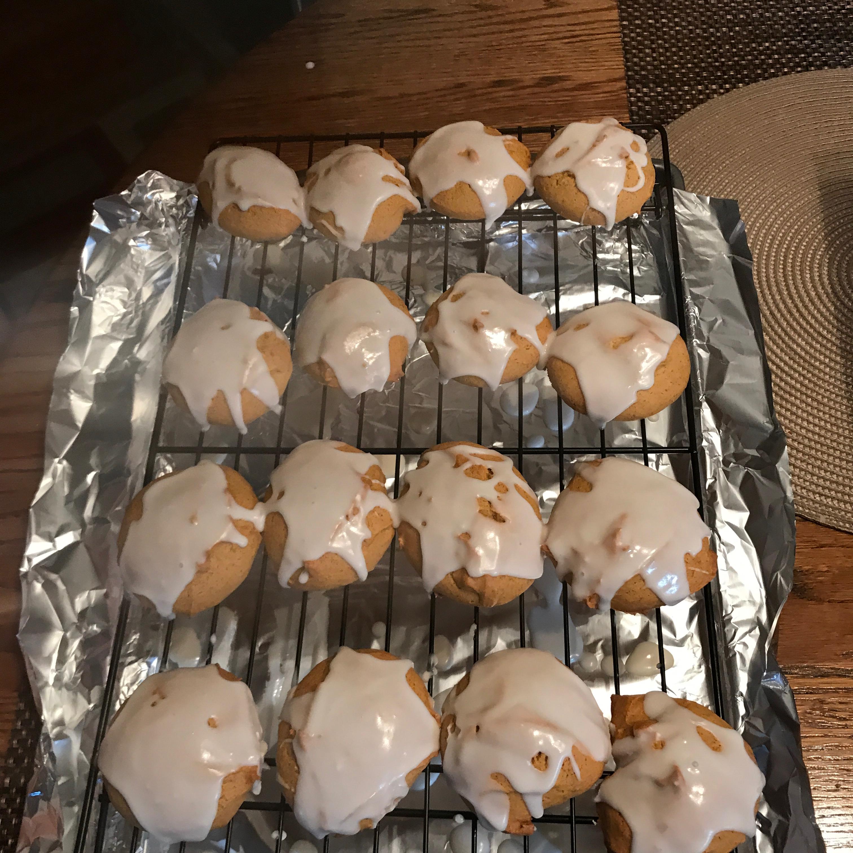 Iced Pumpkin Cookies Denise Hosey
