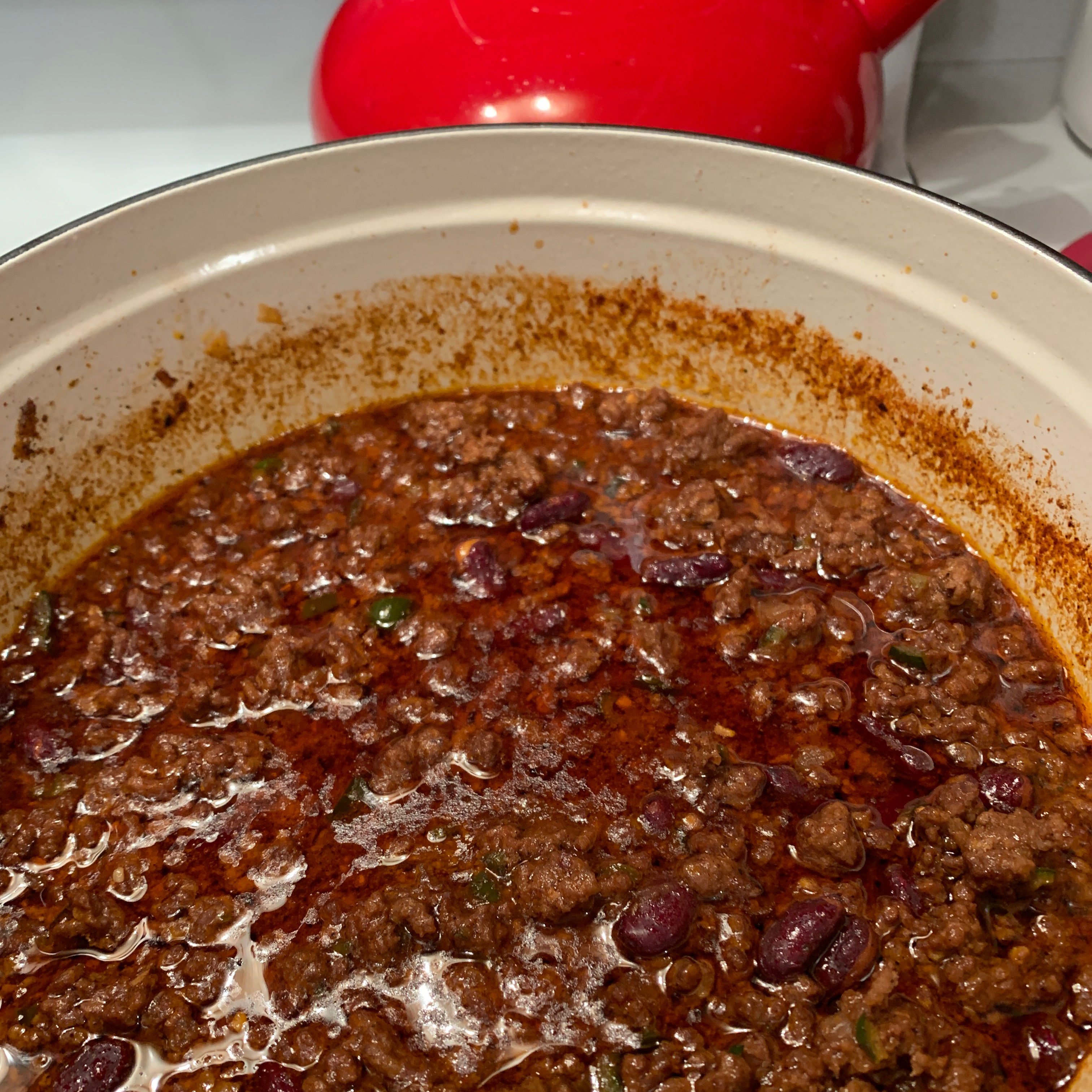 Beef, Bean, and Beer Chili