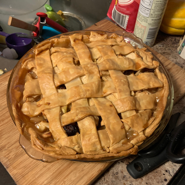 Apple Cranberry Pie Jenine Young