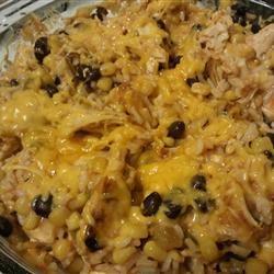 Fiesta Chicken and Rice Bake Dac Kennedy