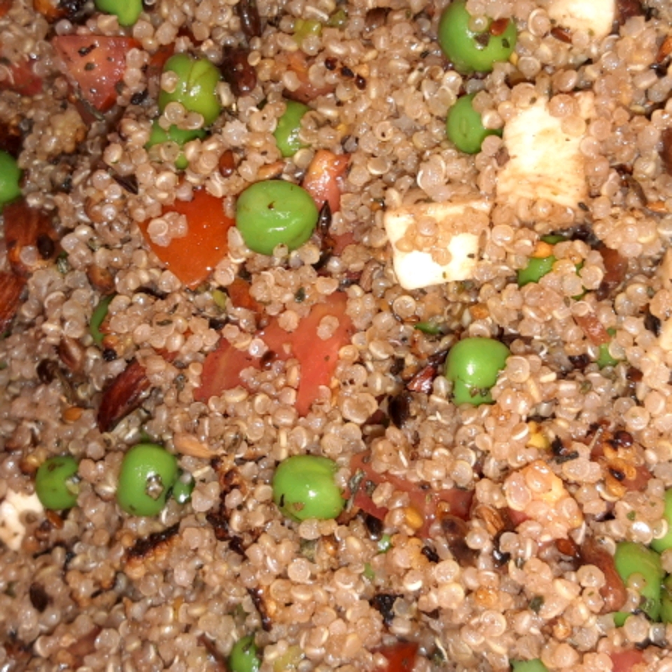 Balsamic and Herb Quinoa Salad Karli Nyland
