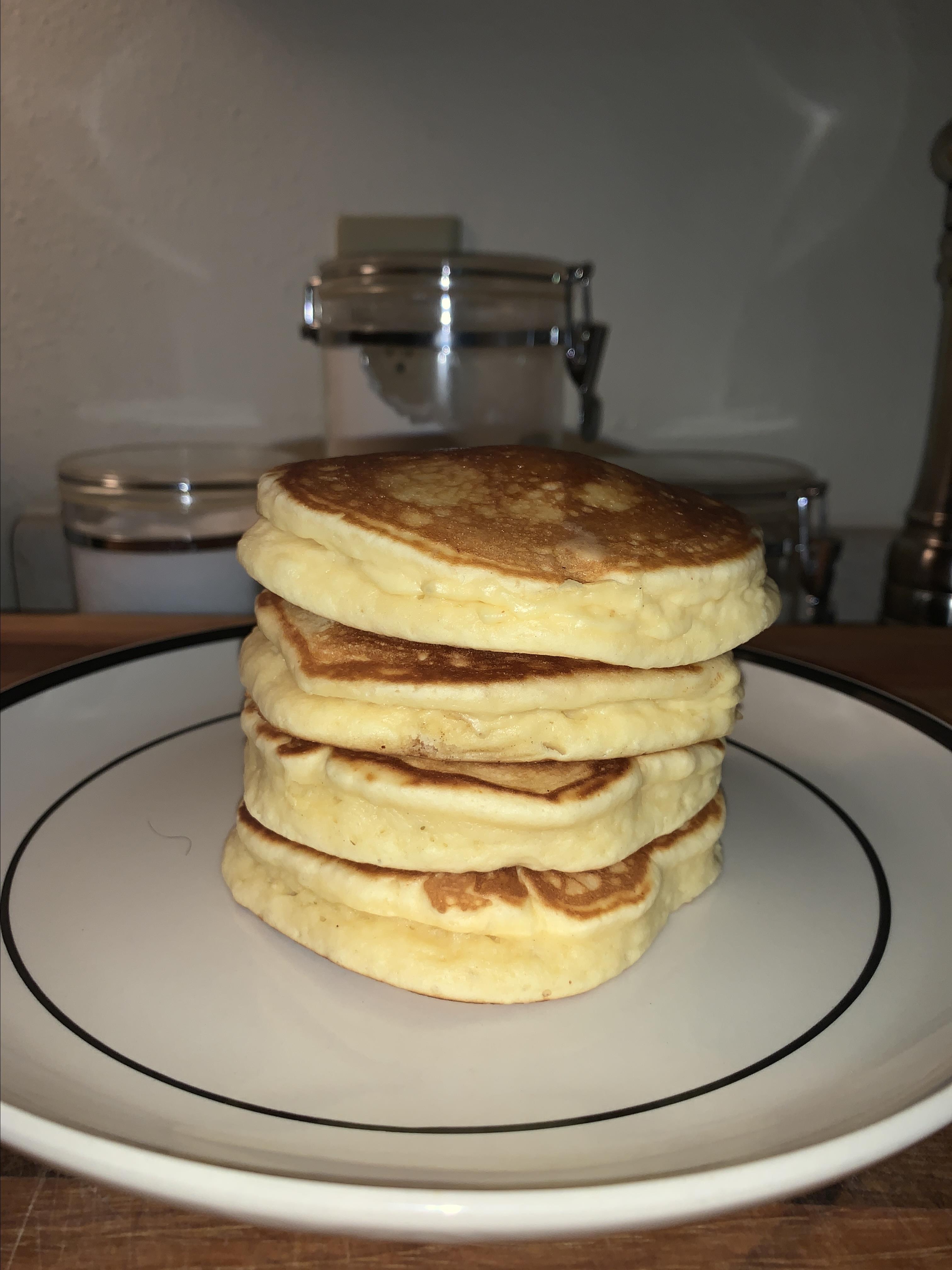 Eggnog Pancakes ChefLogan