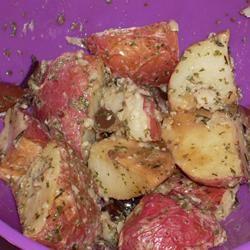 Roasted New Potato Salad With Olives MariaK