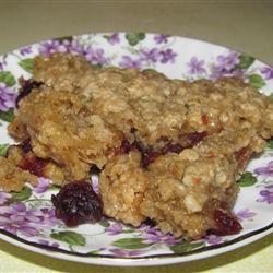 Cranberry Crunch Squares msghd