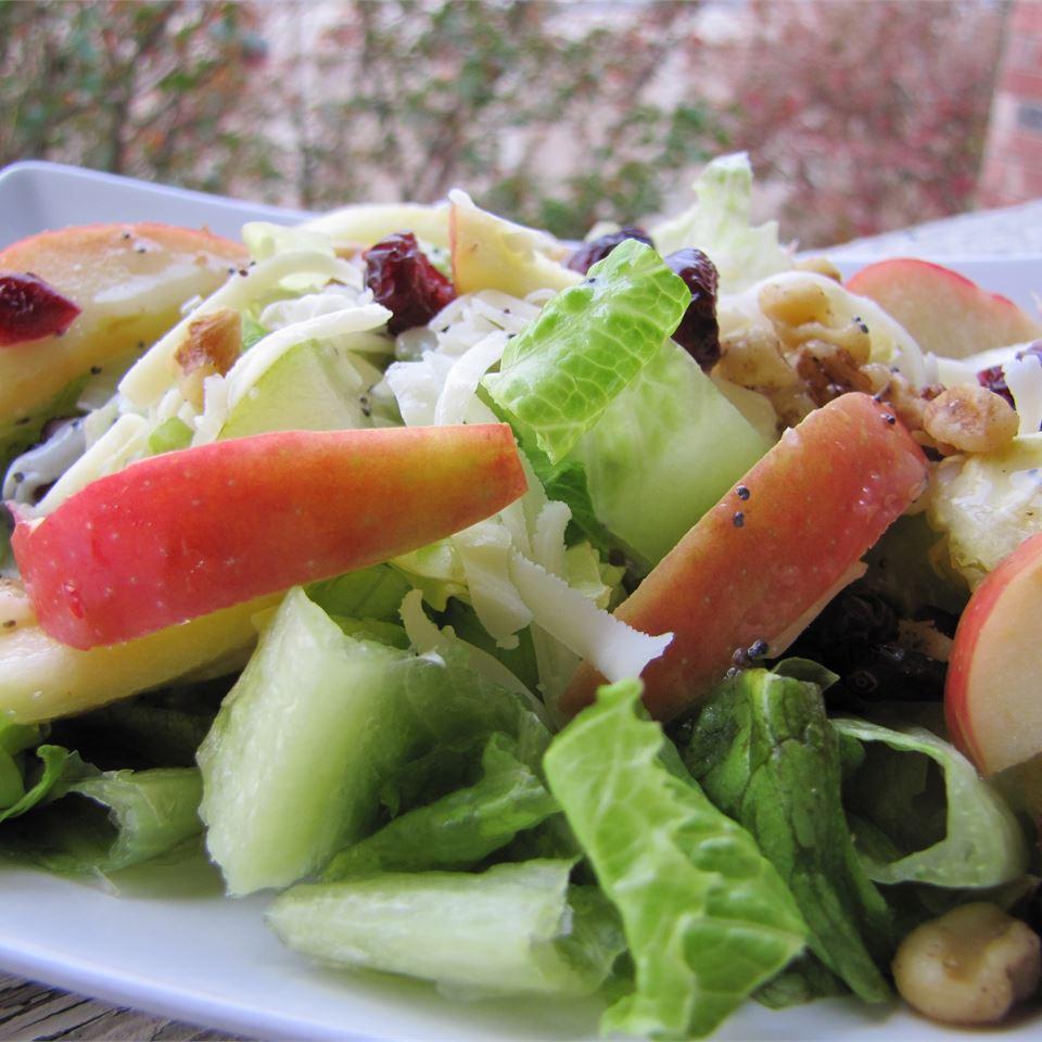 Winter Fruit Salad with Lemon Poppyseed Dressing Nora LaCroix