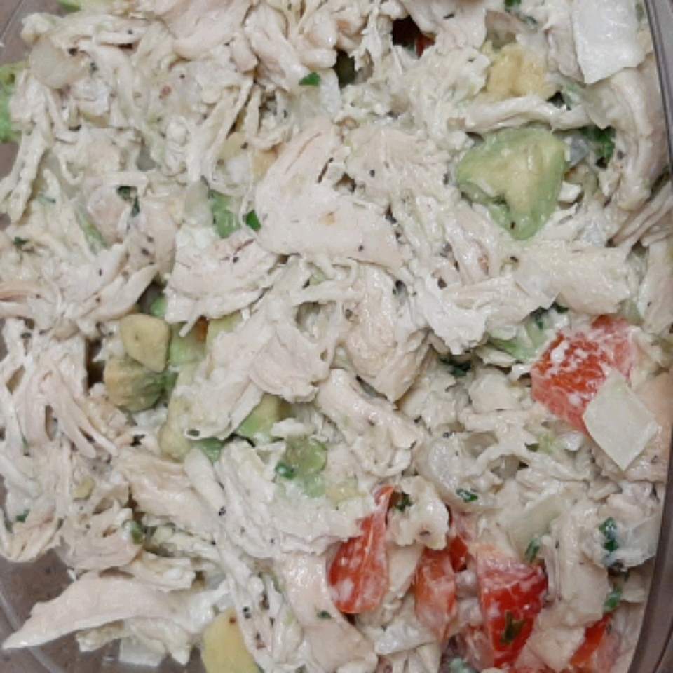 Quick Avocado Chicken Salad Abigail Oregel