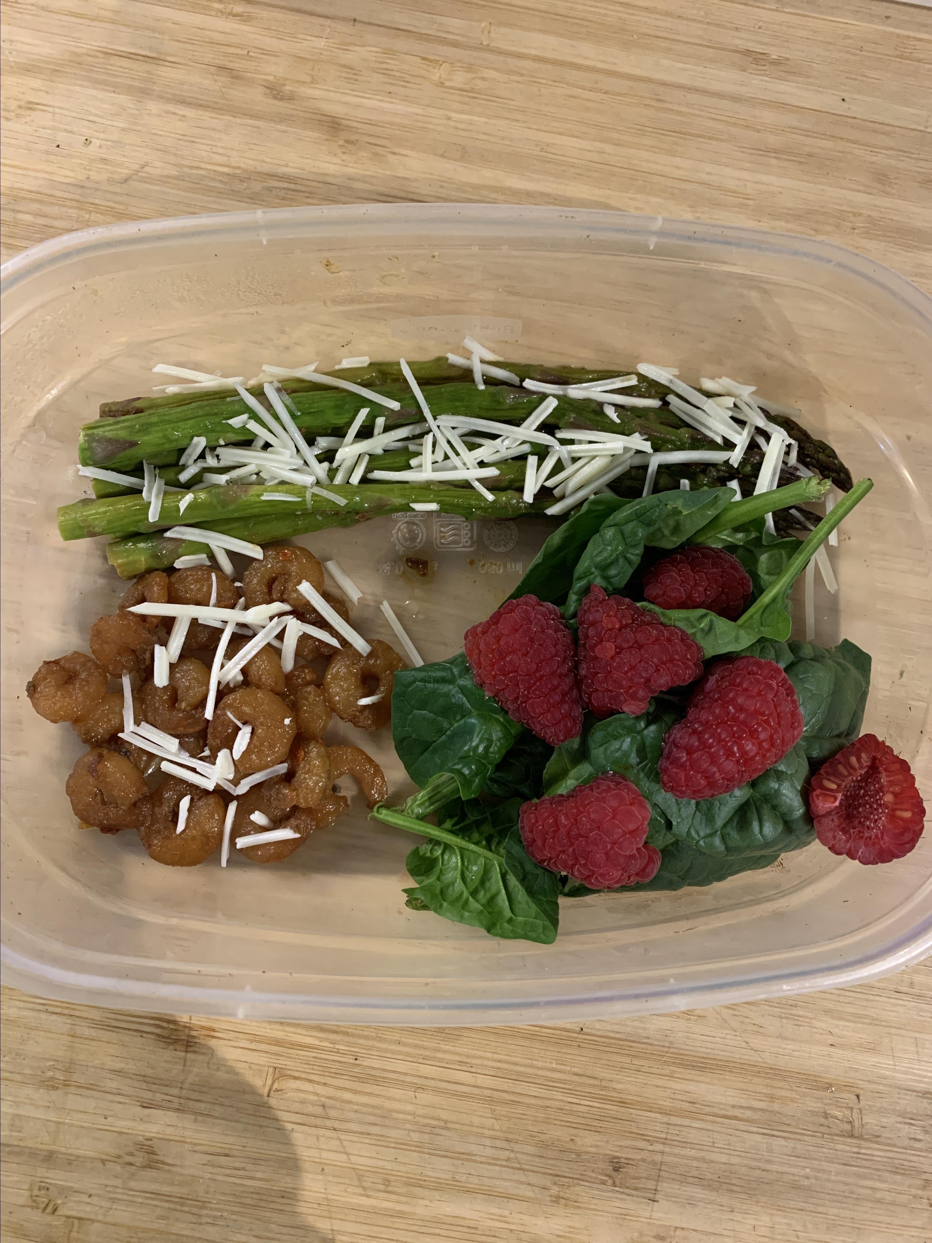 One-Pan Keto Shrimp and Asparagus