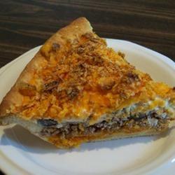 Quick Crescent Taco Pie wannabe chefette