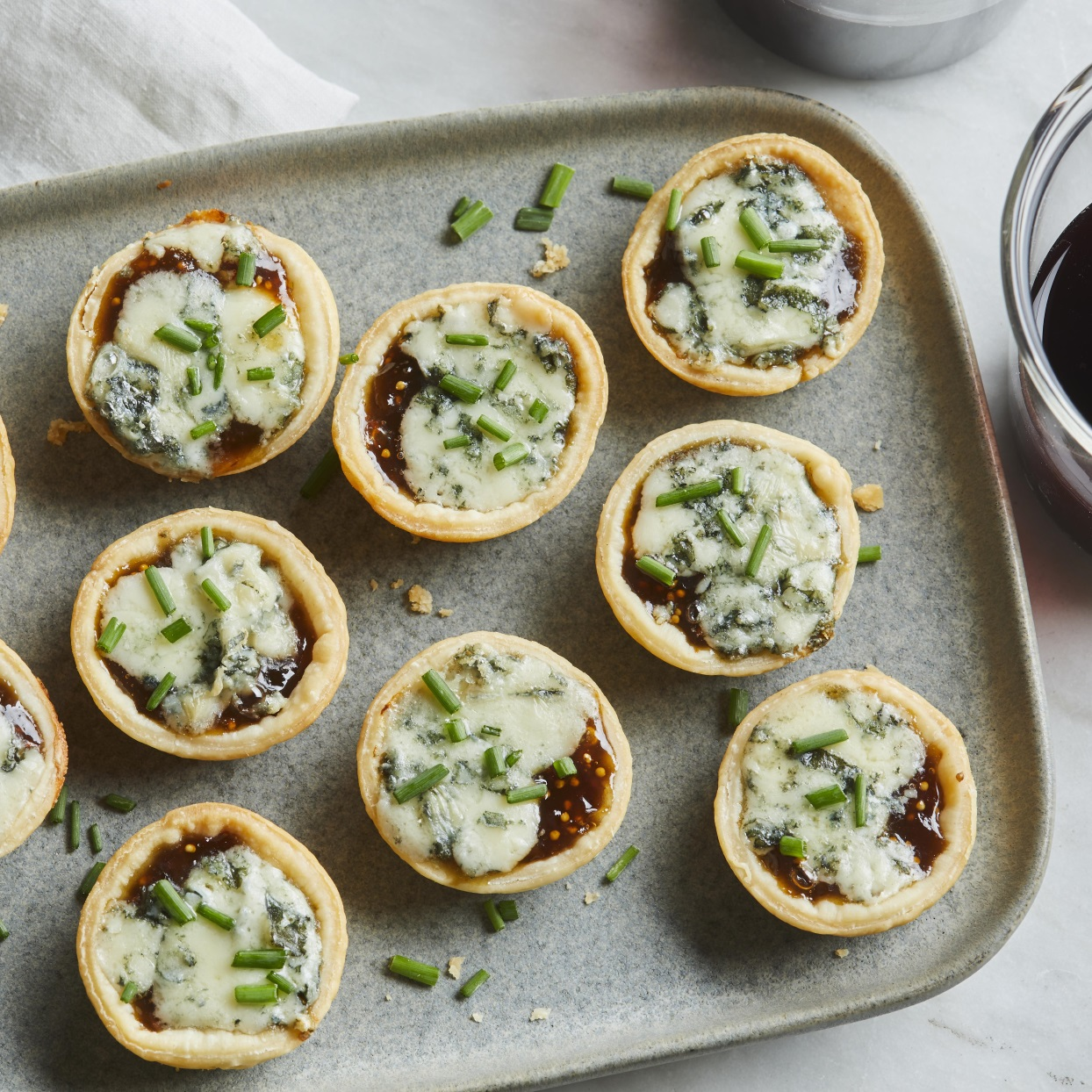 3-Ingredient Blue Cheese & Fig Bites Trusted Brands