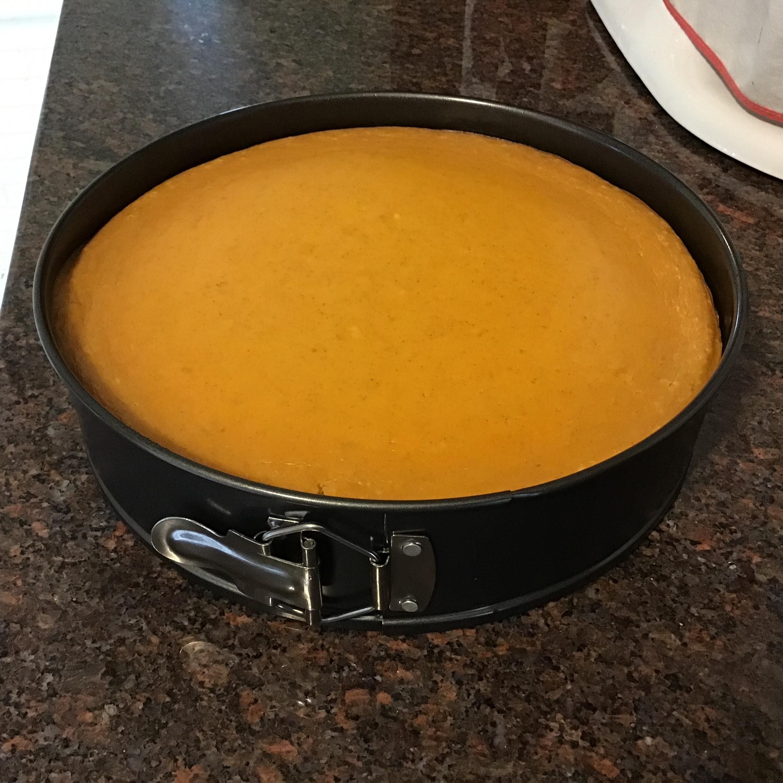 Gluten Free Pumpkin Cheesecake D'Lynn Brandenberger