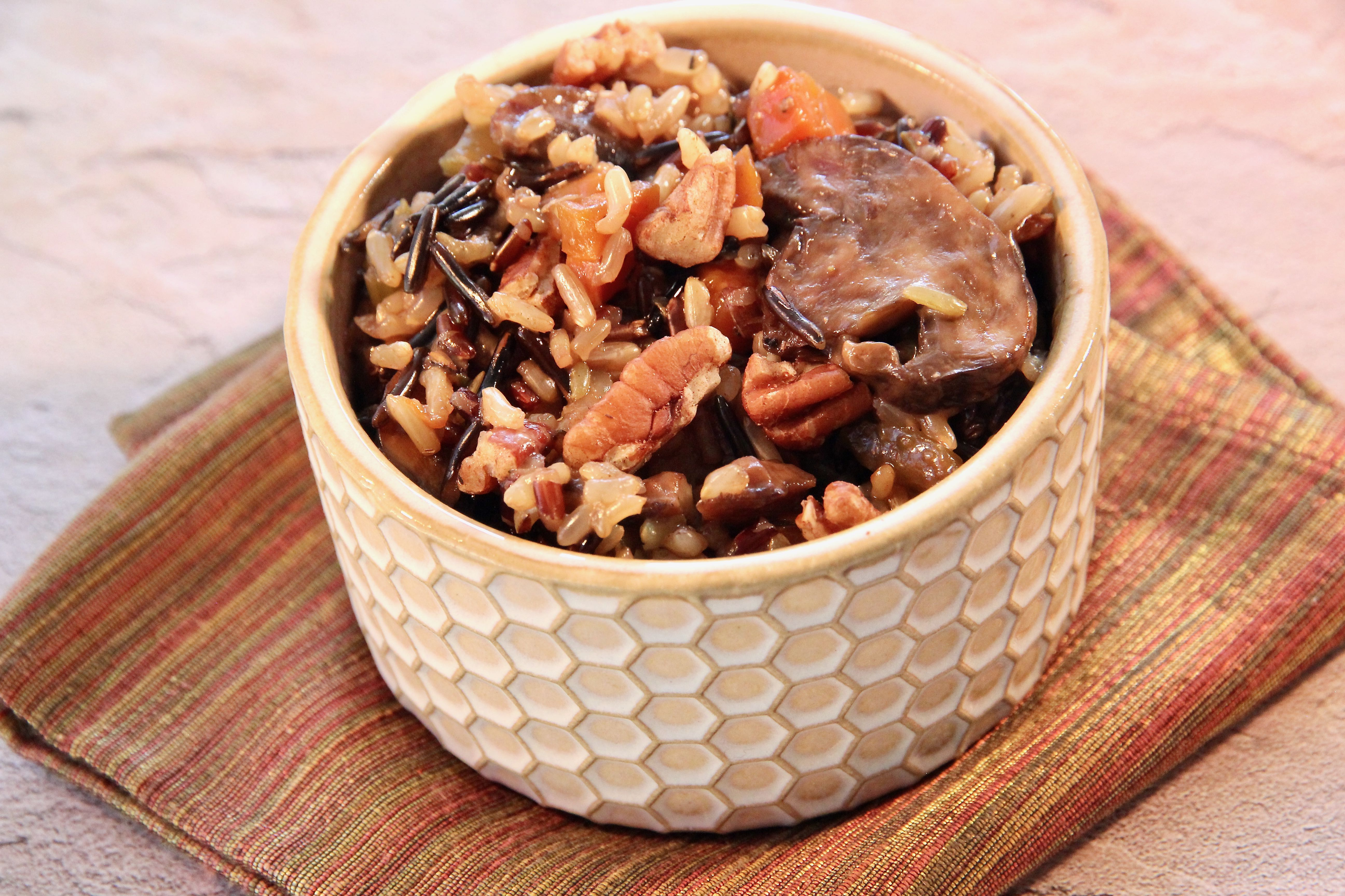 Instant Pot® Wild Rice with Mushrooms