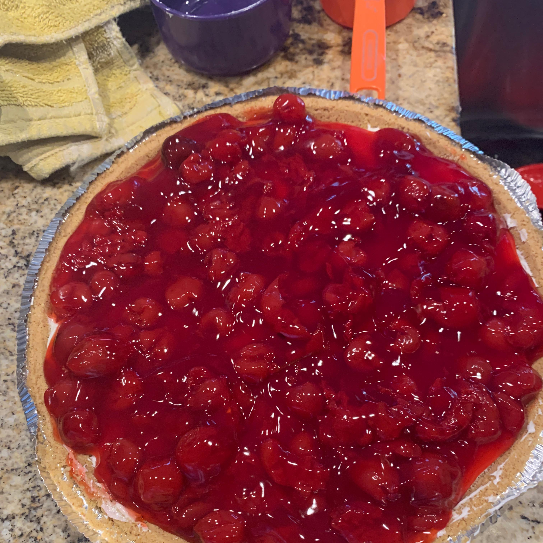 Cherry Cheese Pie I hannah