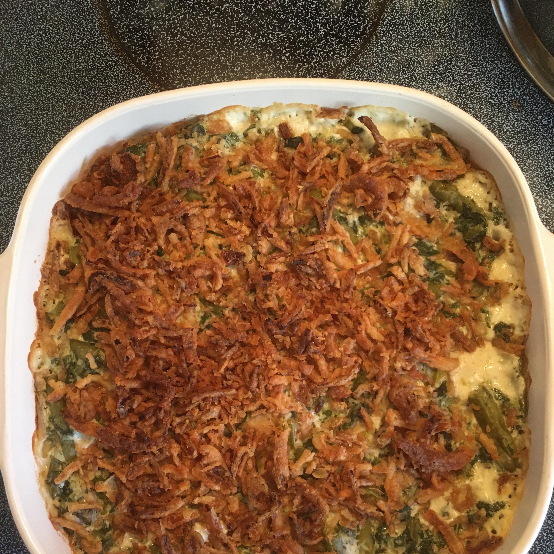Spinach-Green Bean Casserole Marley