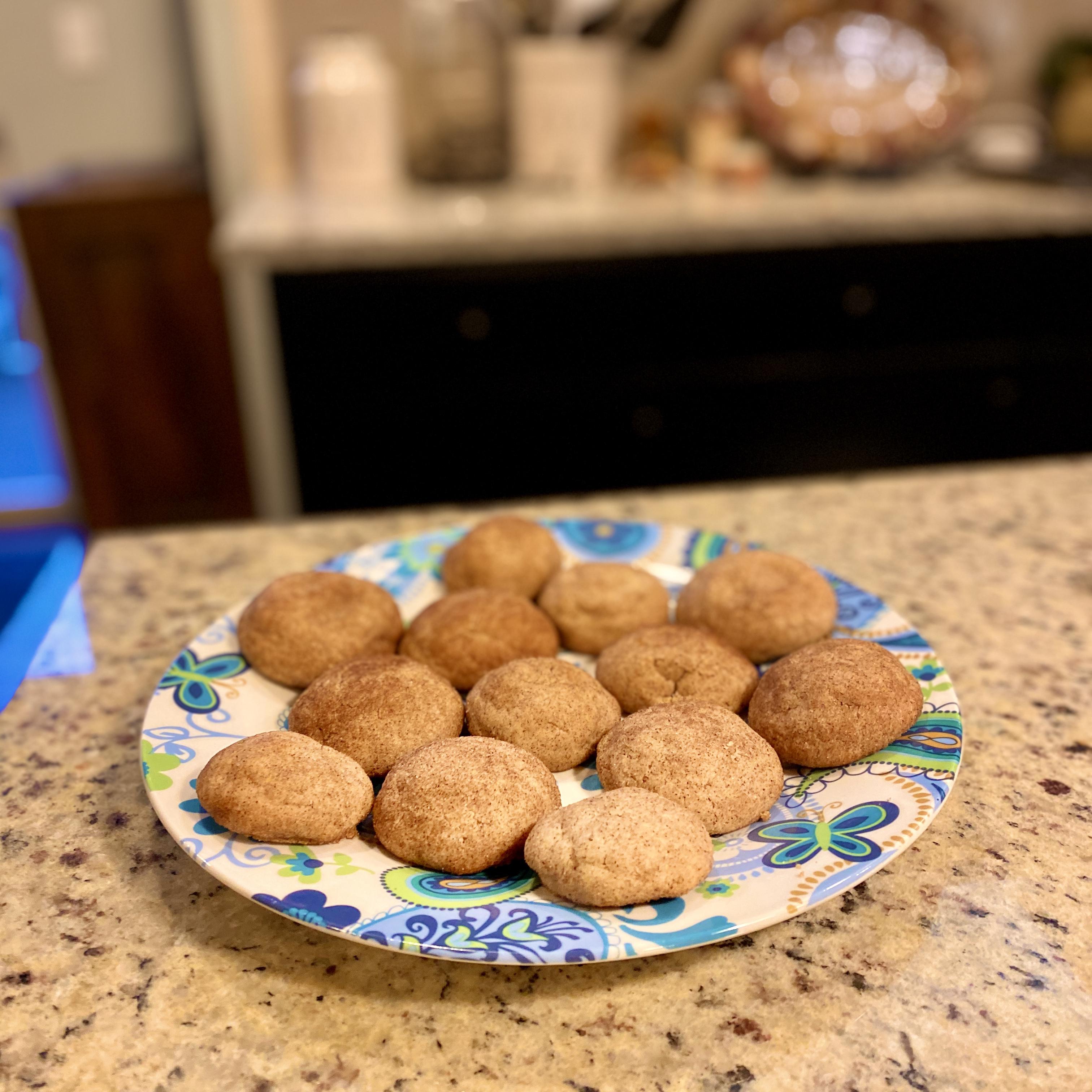 Cinnamon Lemon Cookies Jonathan