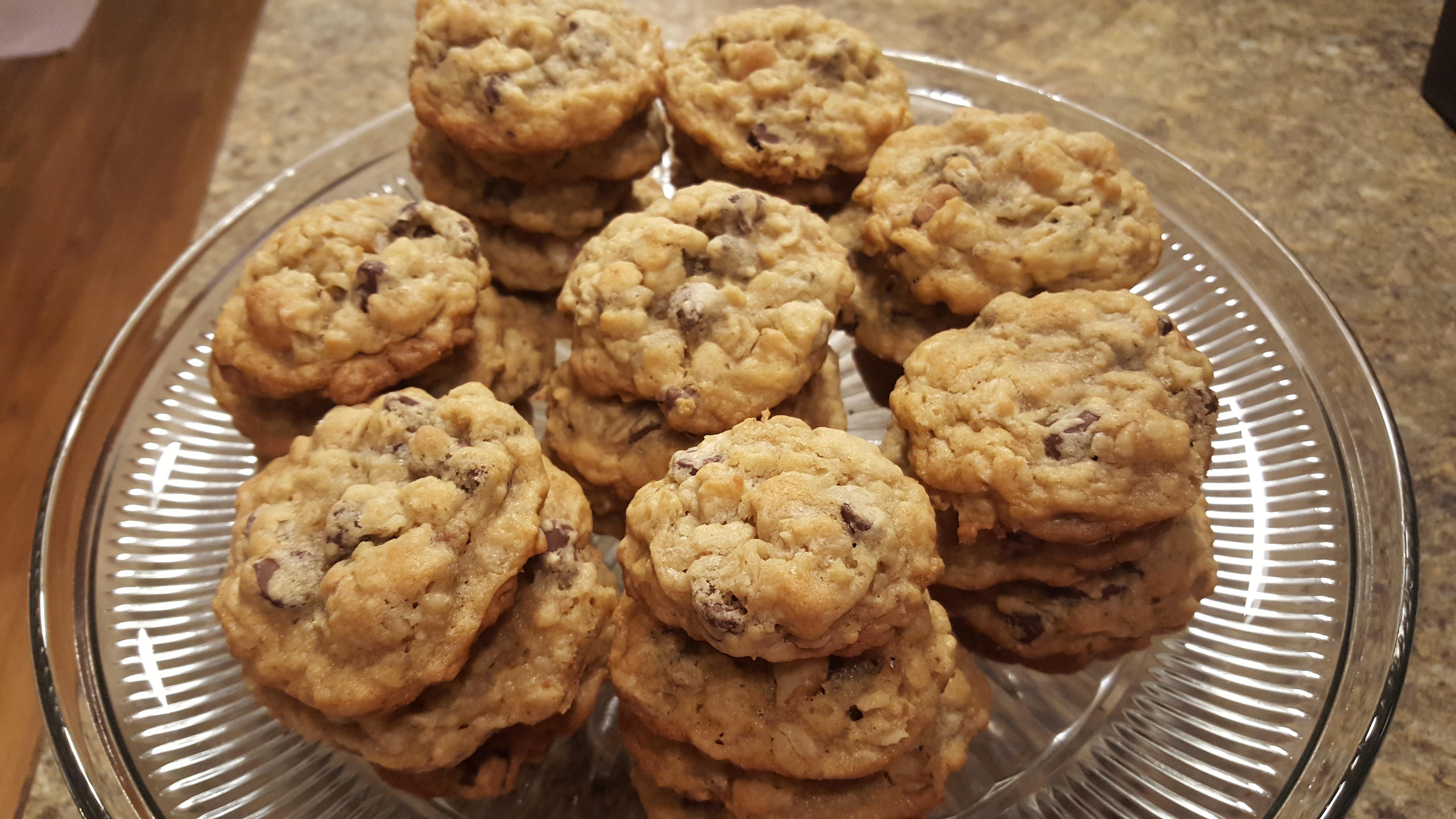 Allison's Supreme Chocolate Chip Cookies Miki Okiura Spallina