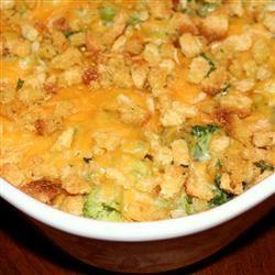 Campbell's Kitchen Broccoli and Cheese Casserole Jennifer Baker