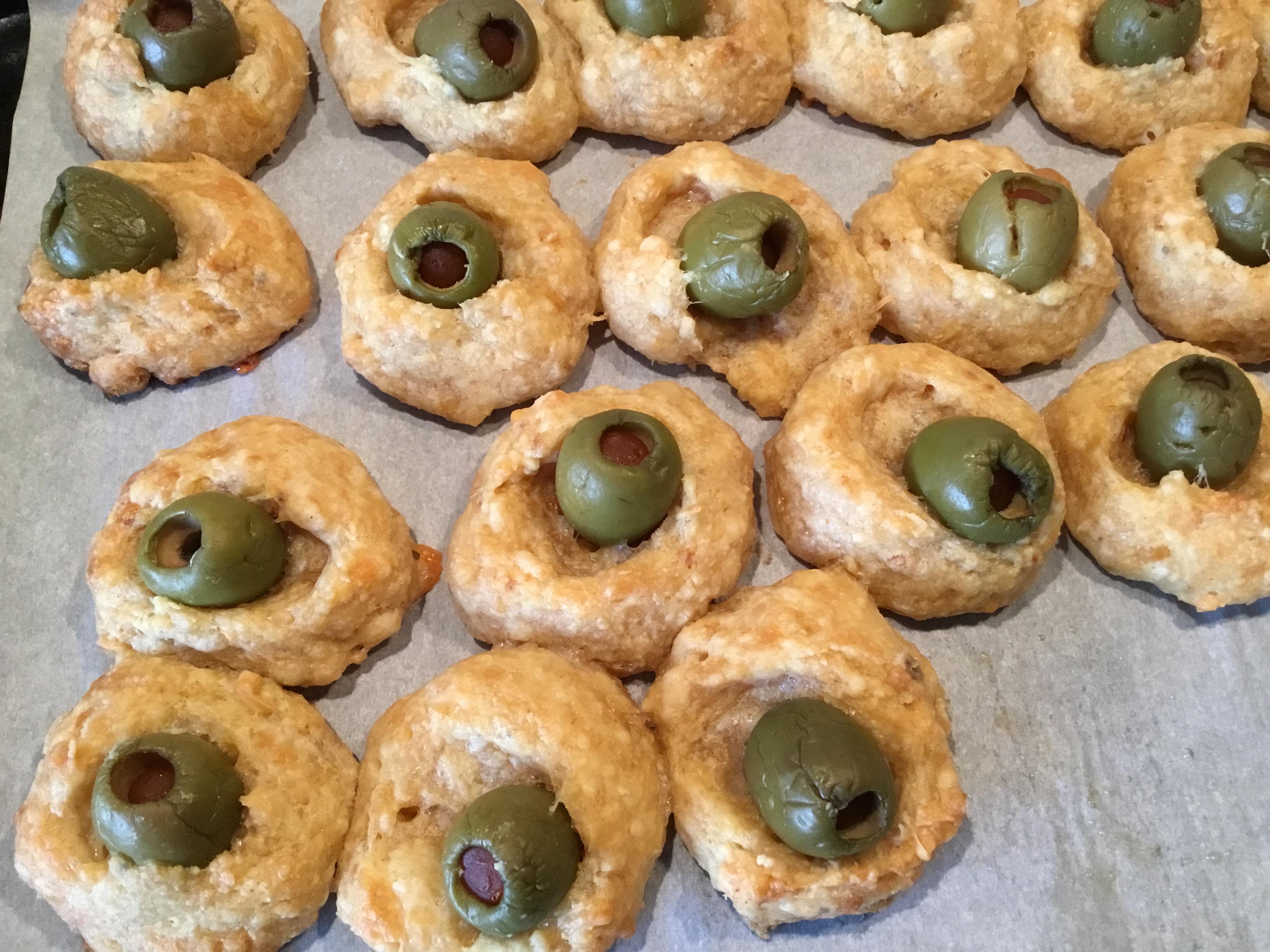 Cheddar Baked Olives Jackie