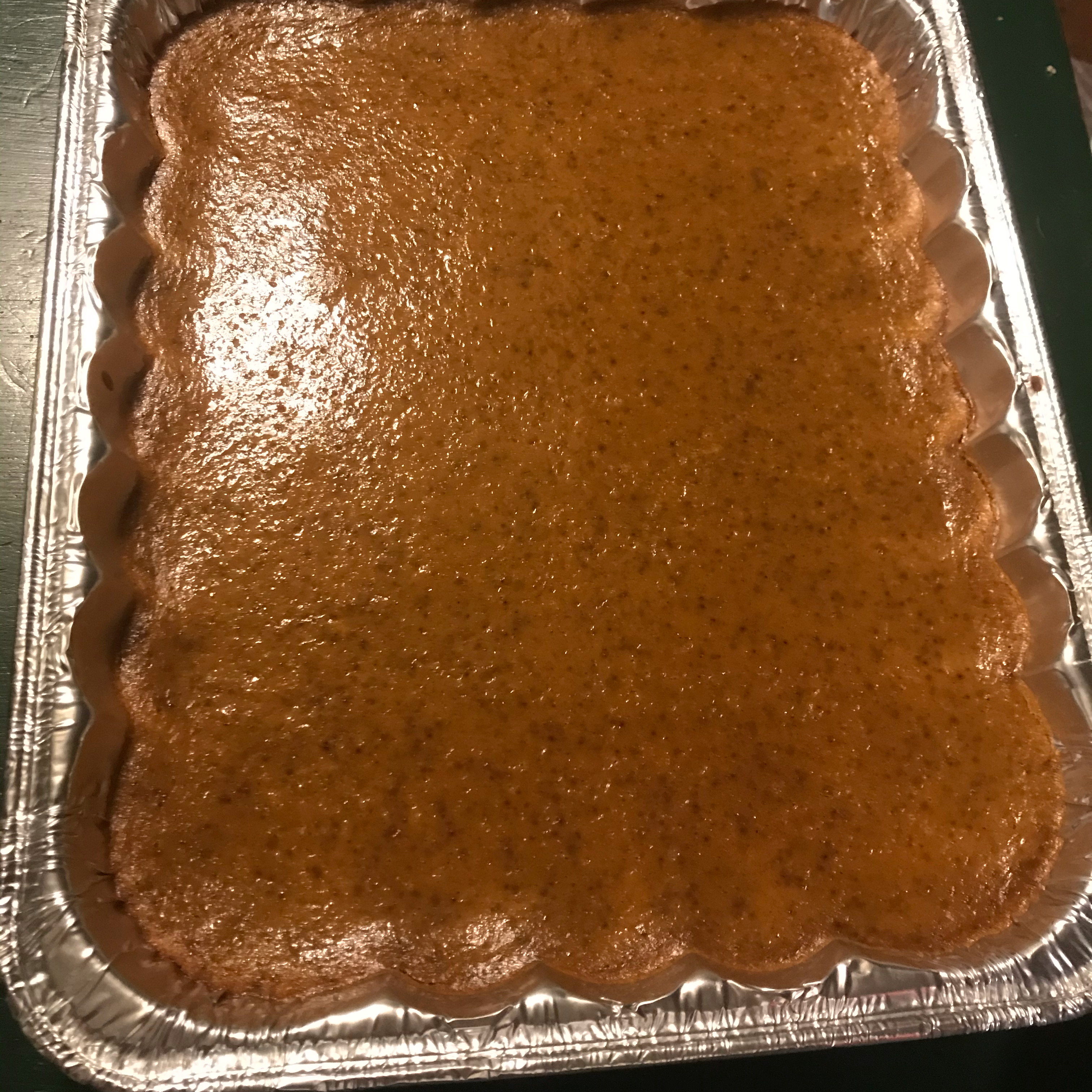 Easy Pumpkin Pie Squares Edna