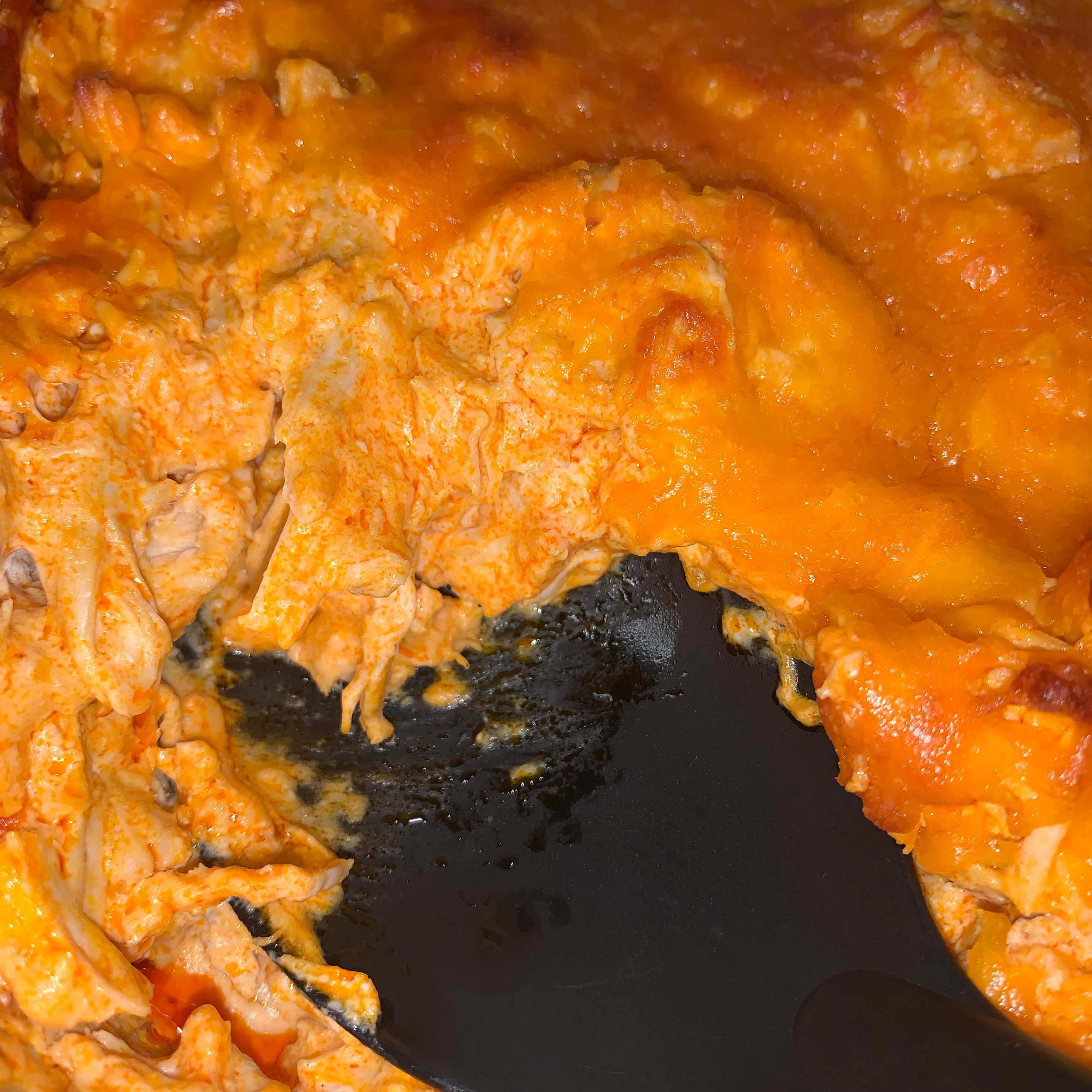 Quick and Easy Baked Buffalo Chicken Dip
