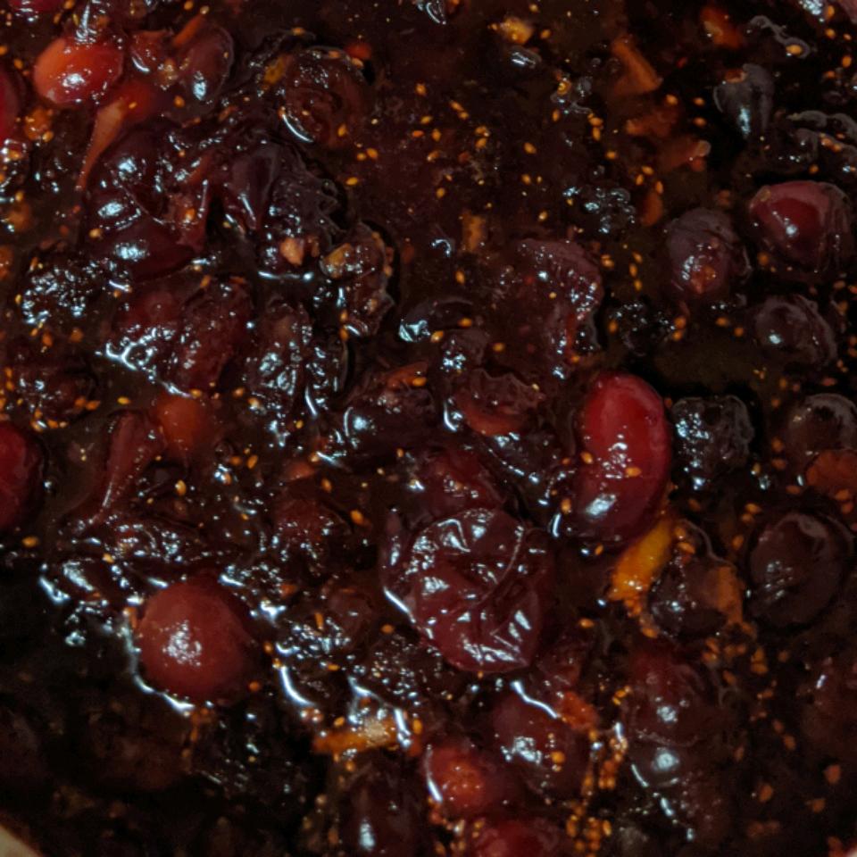 Patti's Triple Cranberry Sauce