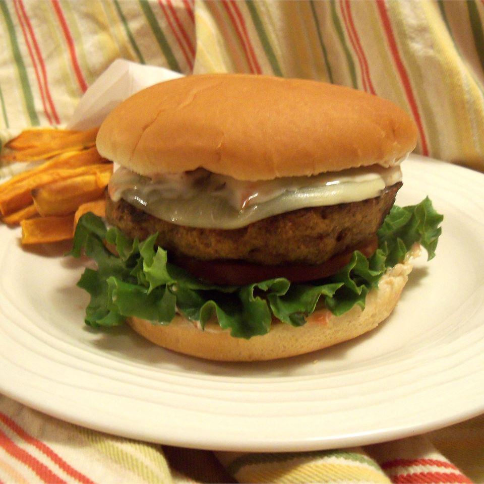 Turkey Meatloaf Burgers Rae