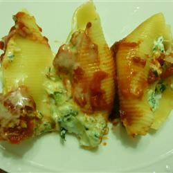 Pasta Shells Florentine Jasmine Gonzalez