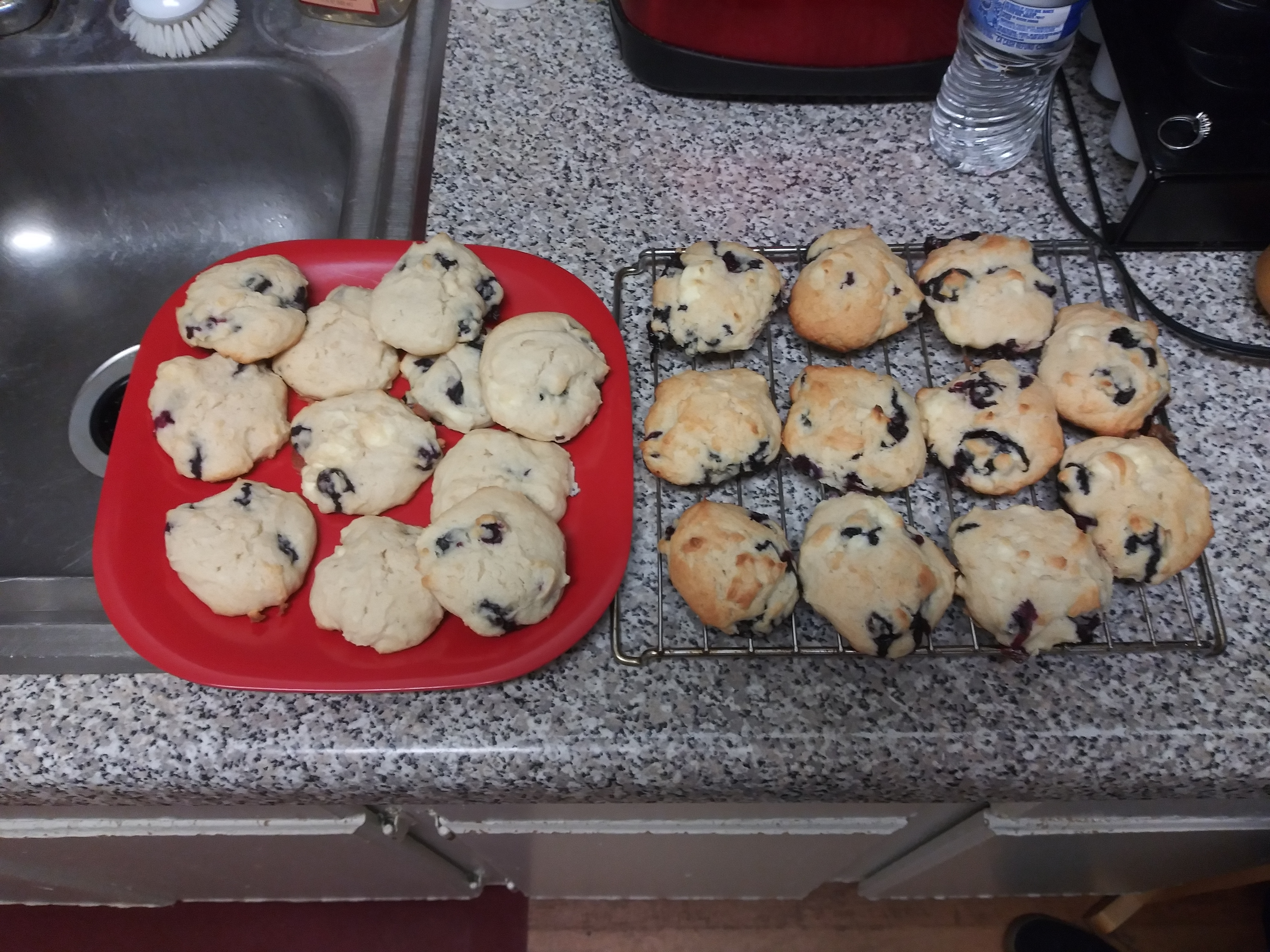 Blueberry Cheesecake Cookies Madisyn Peterson