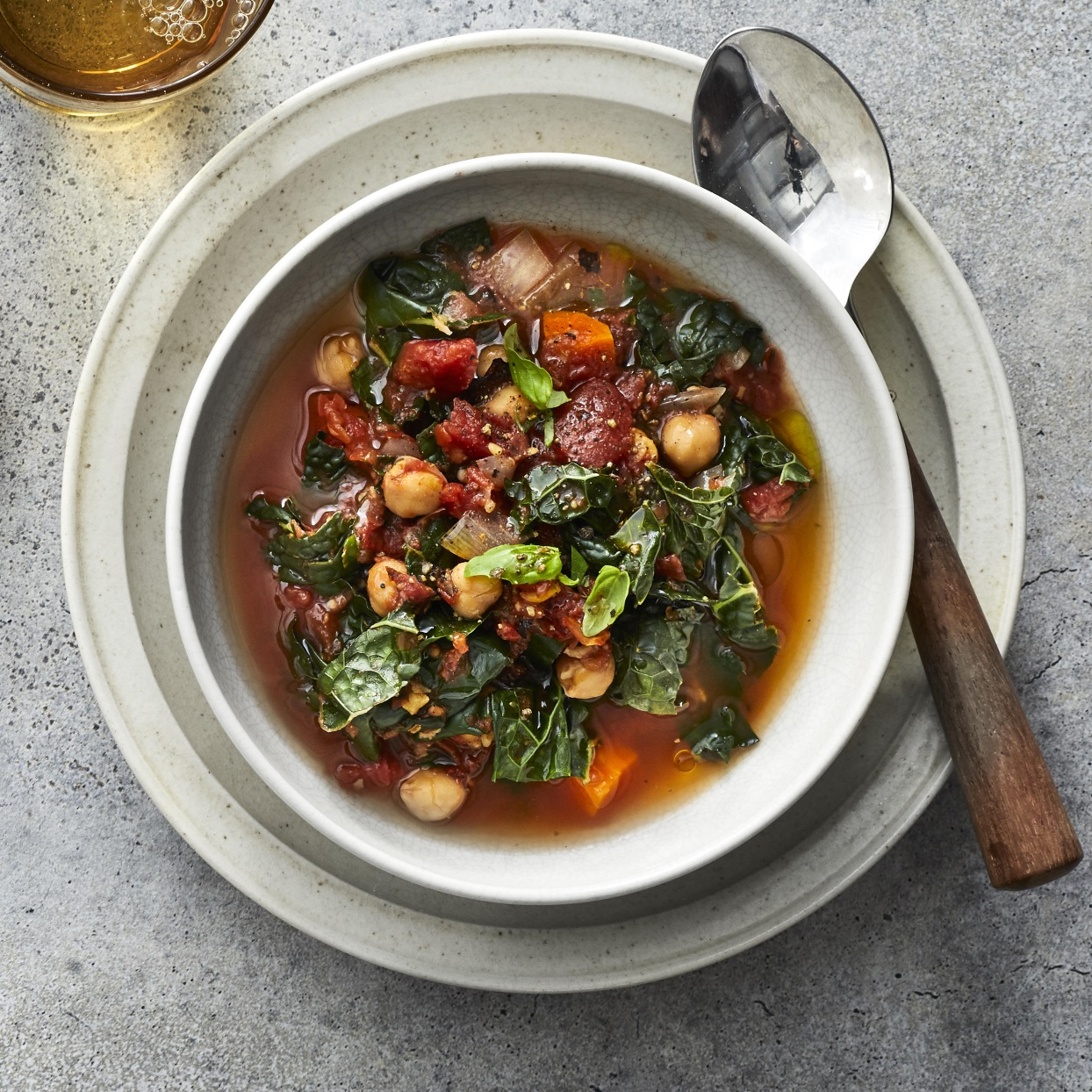 This Mediterranean stew is a healthy dinner chock-full of vegetables and hearty chickpeas. A drizzle of olive oil to finish carries the flavors of this easy vegan crock-pot stew. Swap out the chickpeas for white beans for a different twist, or try collards or spinach in place of the kale. Any way you vary it, this stew is sure to go into heavy rotation when you are looking for healthy crock-pot recipes. Source: EatingWell.com, November 2019