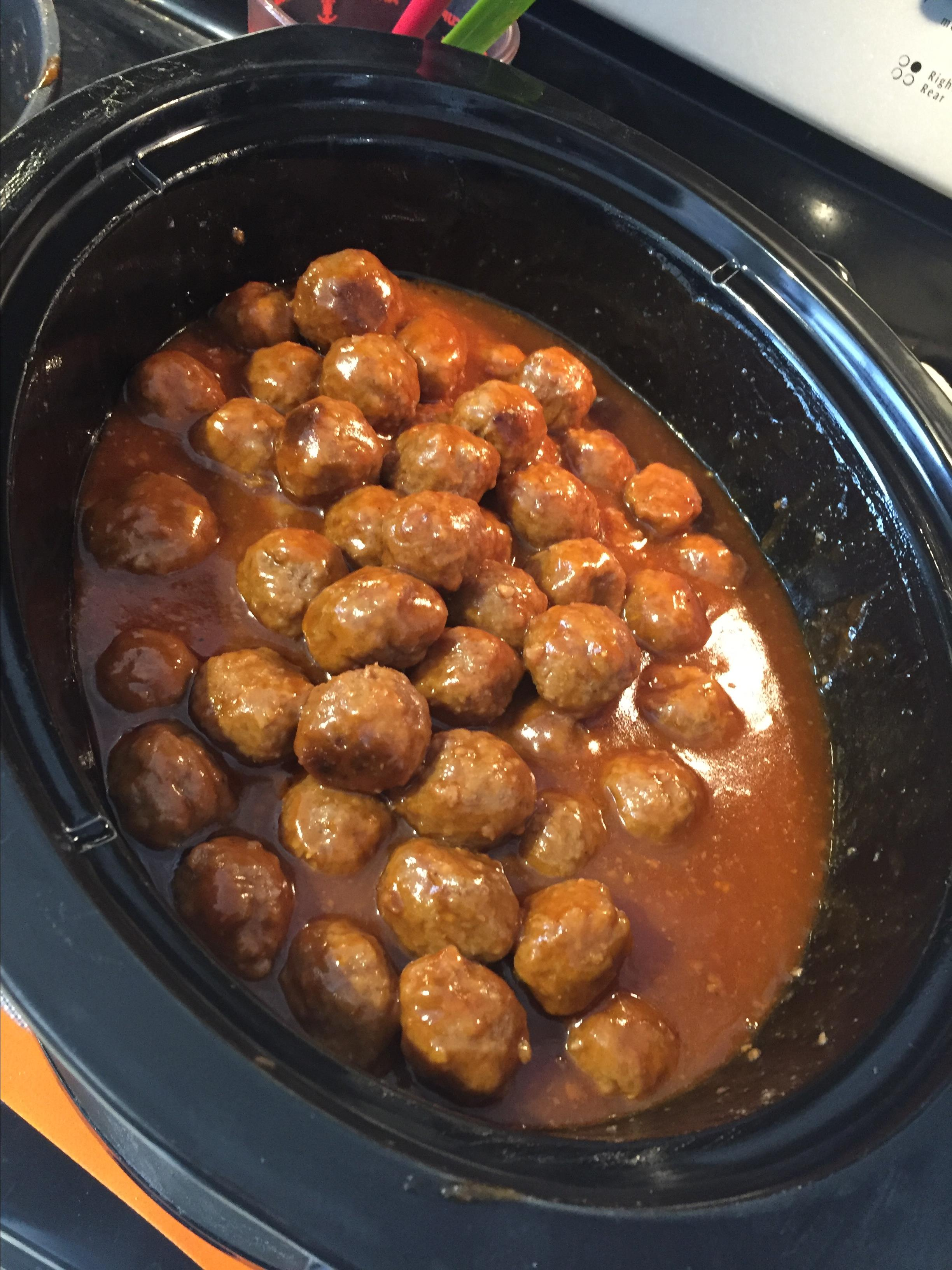 Connie's Sweet and Sour Christmas Meatballs Emma Veea