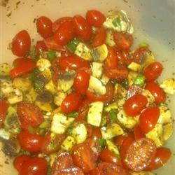 Byrdhouse Marinated Tomatoes and Mushrooms Barbara