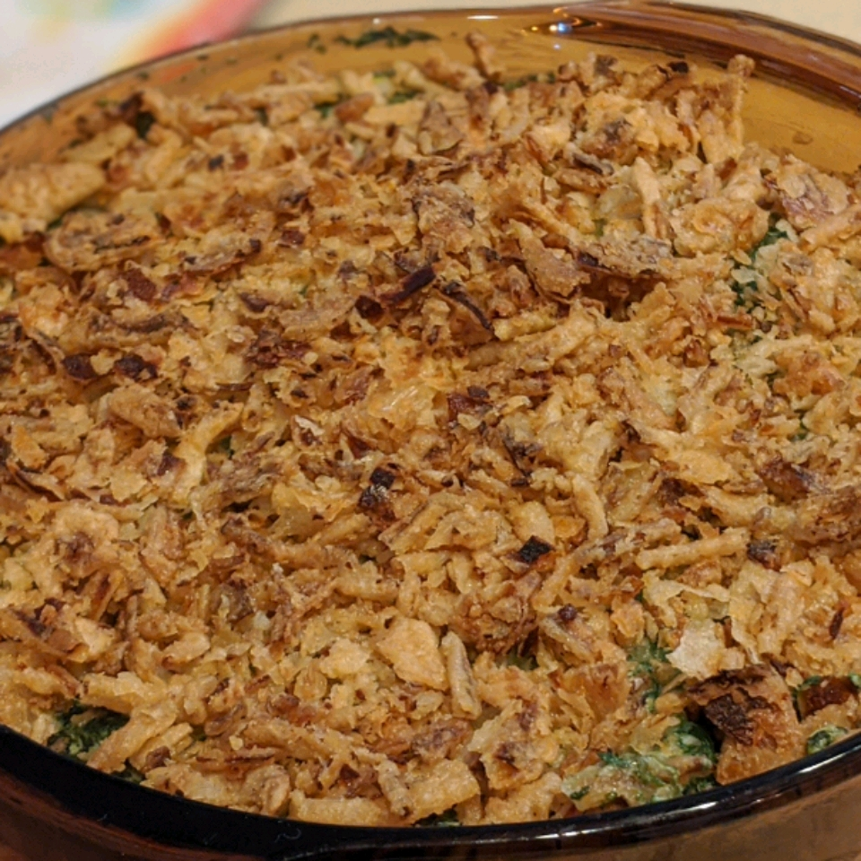 Quick and Easy Spinach Casserole