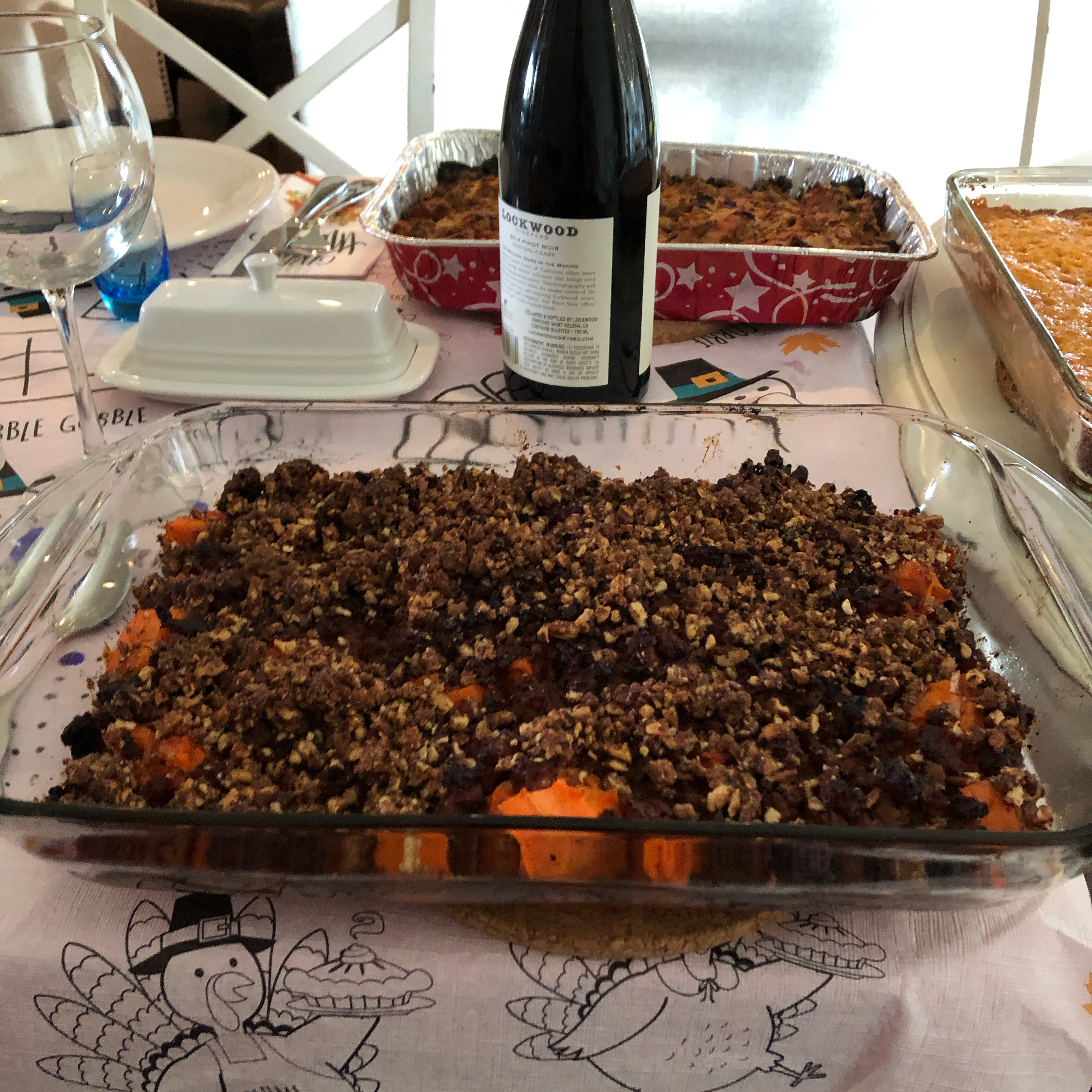 Sweet Potatoes with Pecans and Sausage Vickie Eastwood