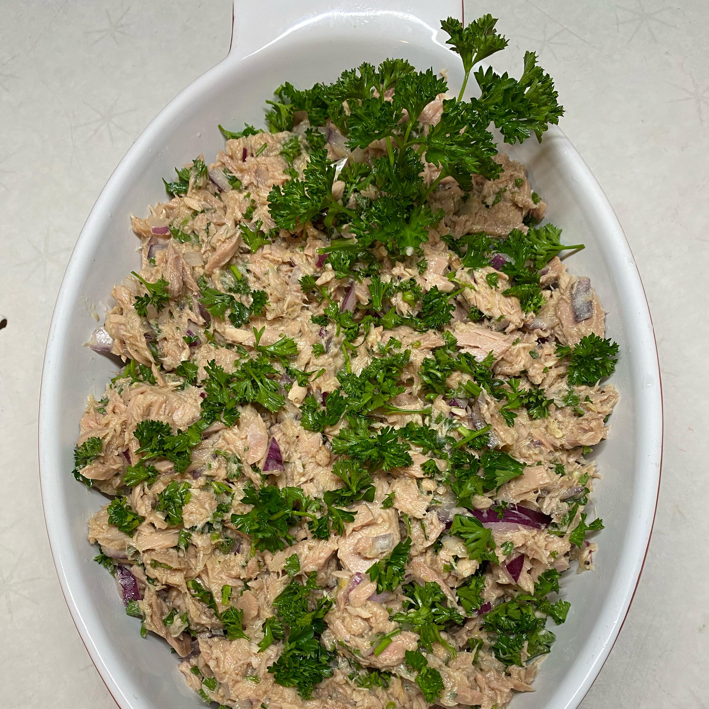 Healthier Mediterranean Tuna Salad