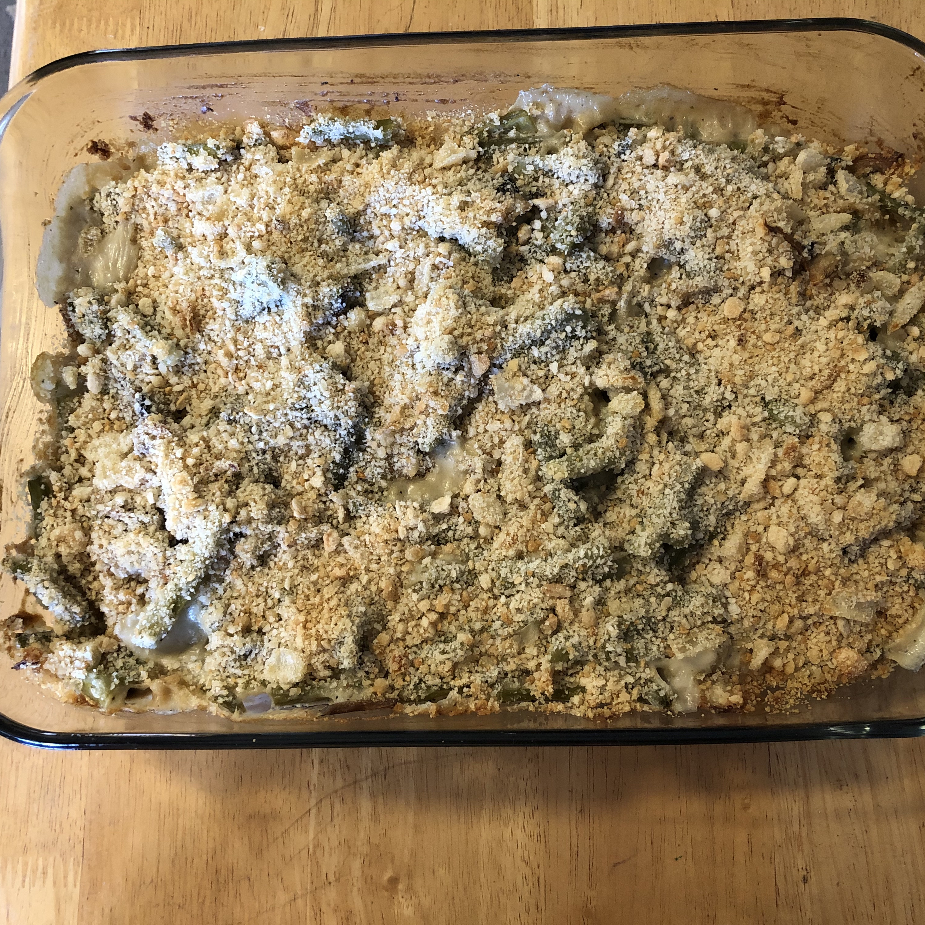 Fresh Green Bean and Mushroom Casserole Katherine Brown