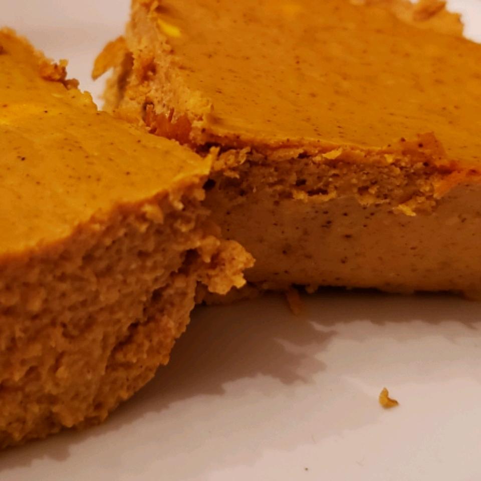 Low-Carb Pumpkin Cheesecake Bars