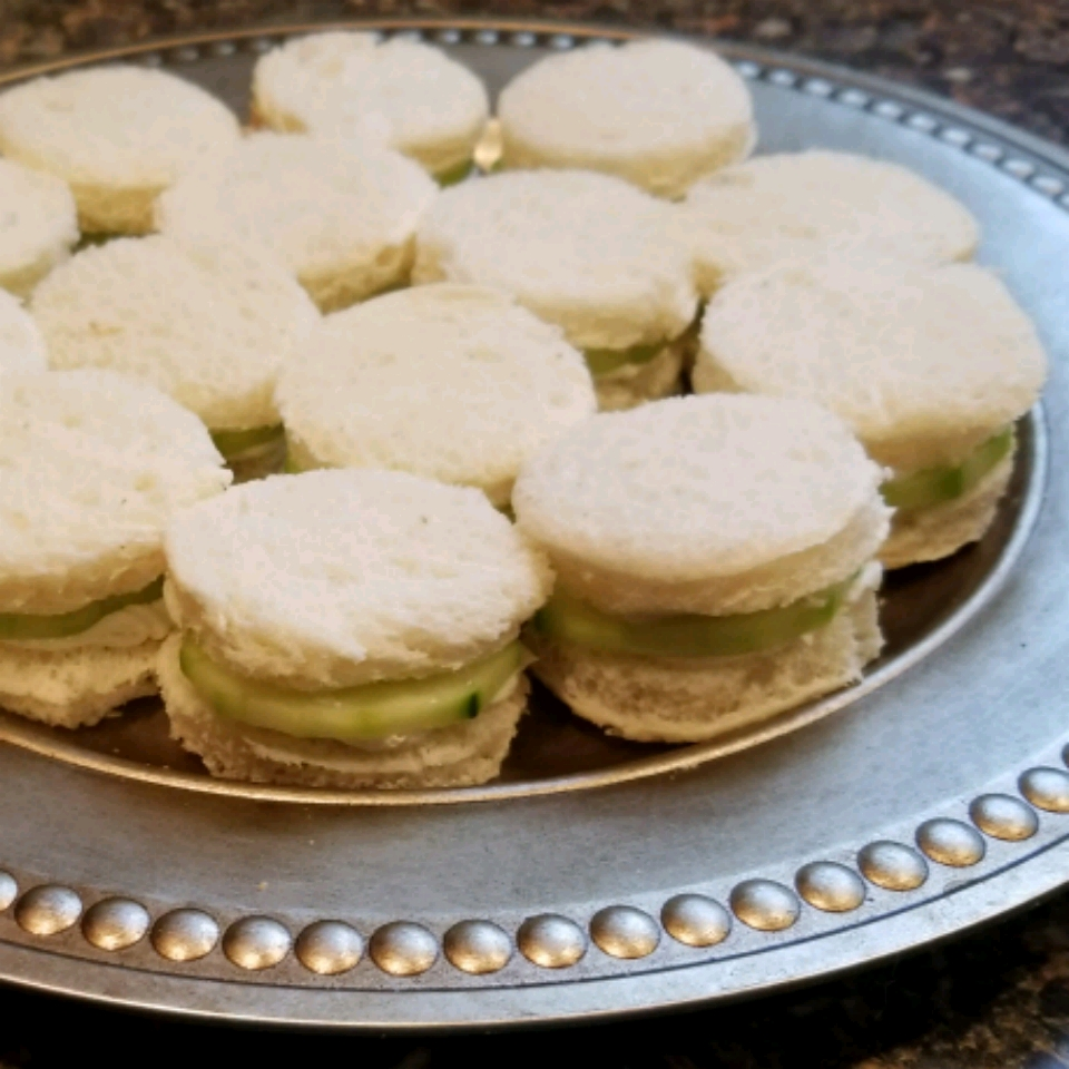English Tea Cucumber Sandwiches Hubbahubbard09