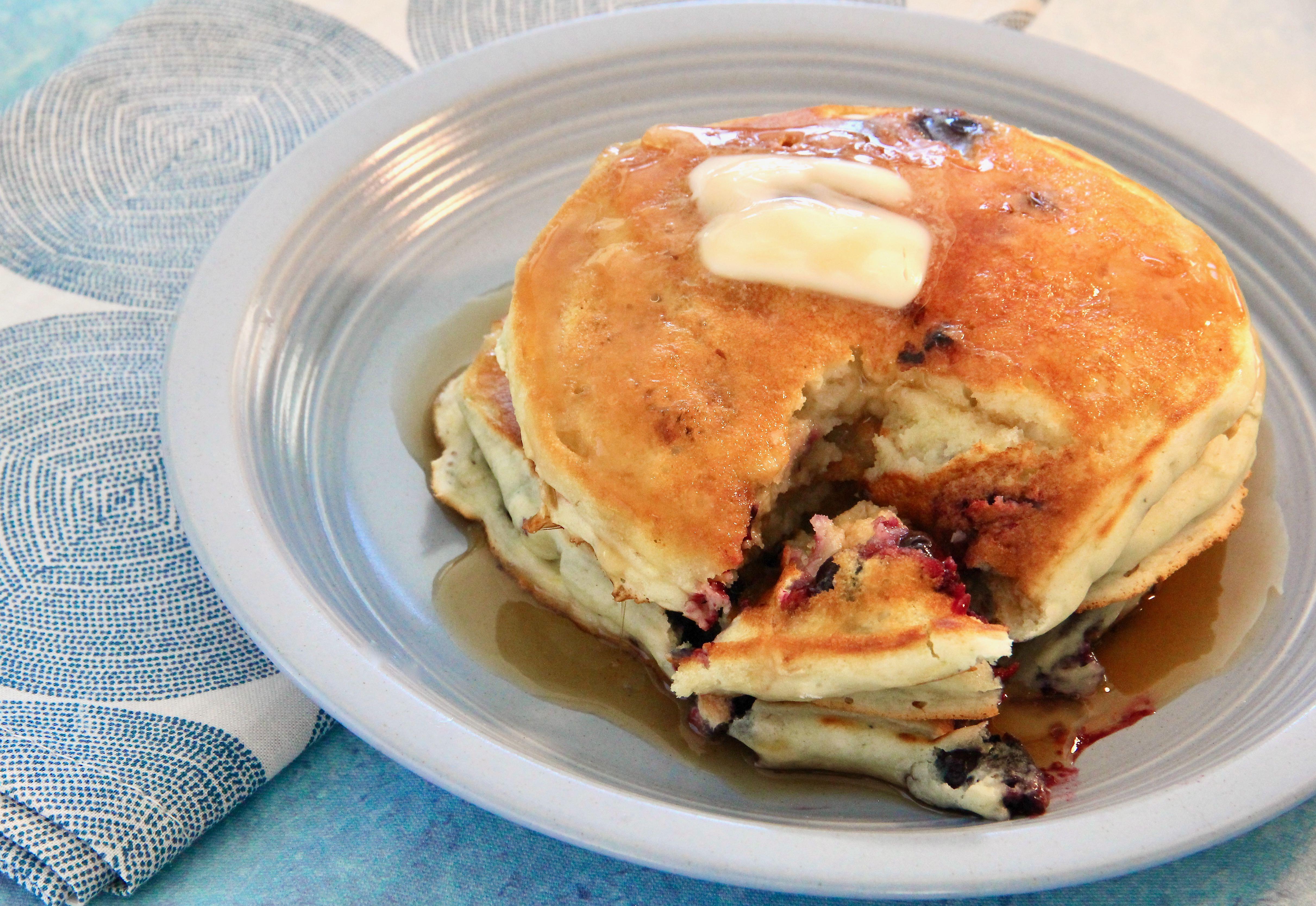 Lemon-Blueberry Pancakes