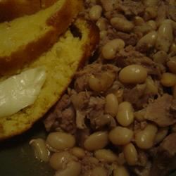 Slow Cooker Ham and Beans *Kitty*