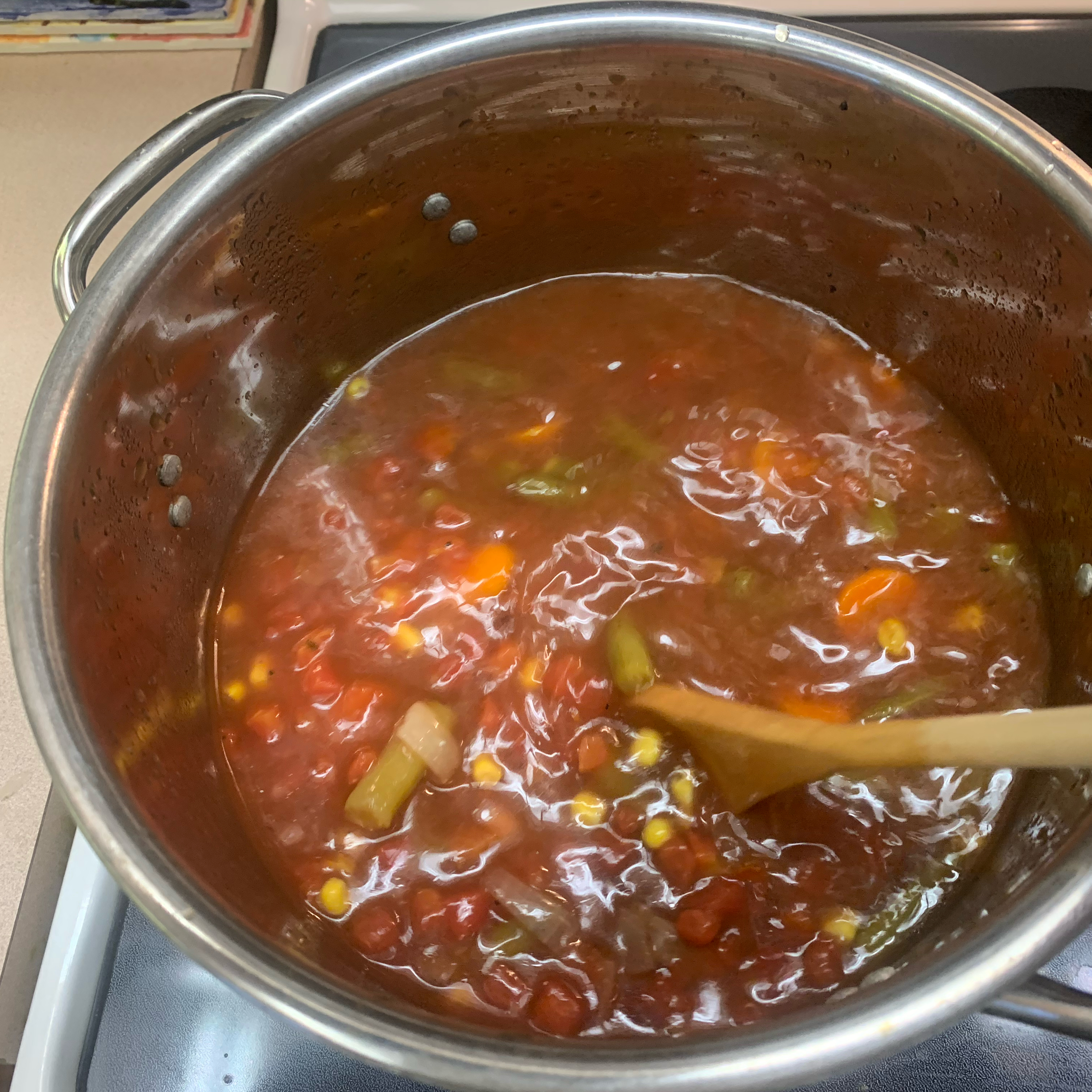 Venison Vegetable Soup momruns