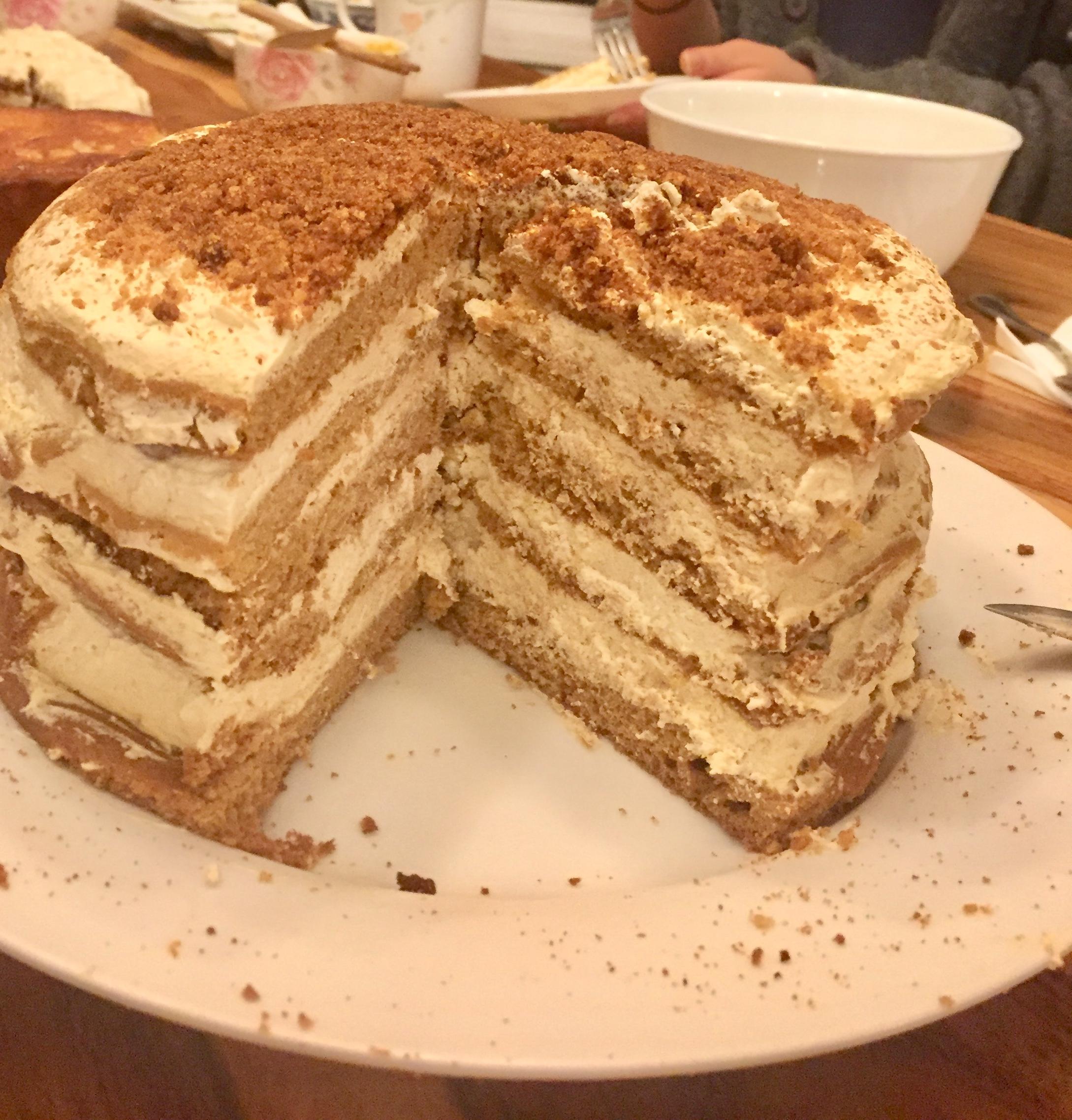 Russian Honey Cake crys