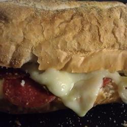 Pepperoni Bread