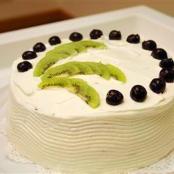 Rich Chocolate Chiffon Cake