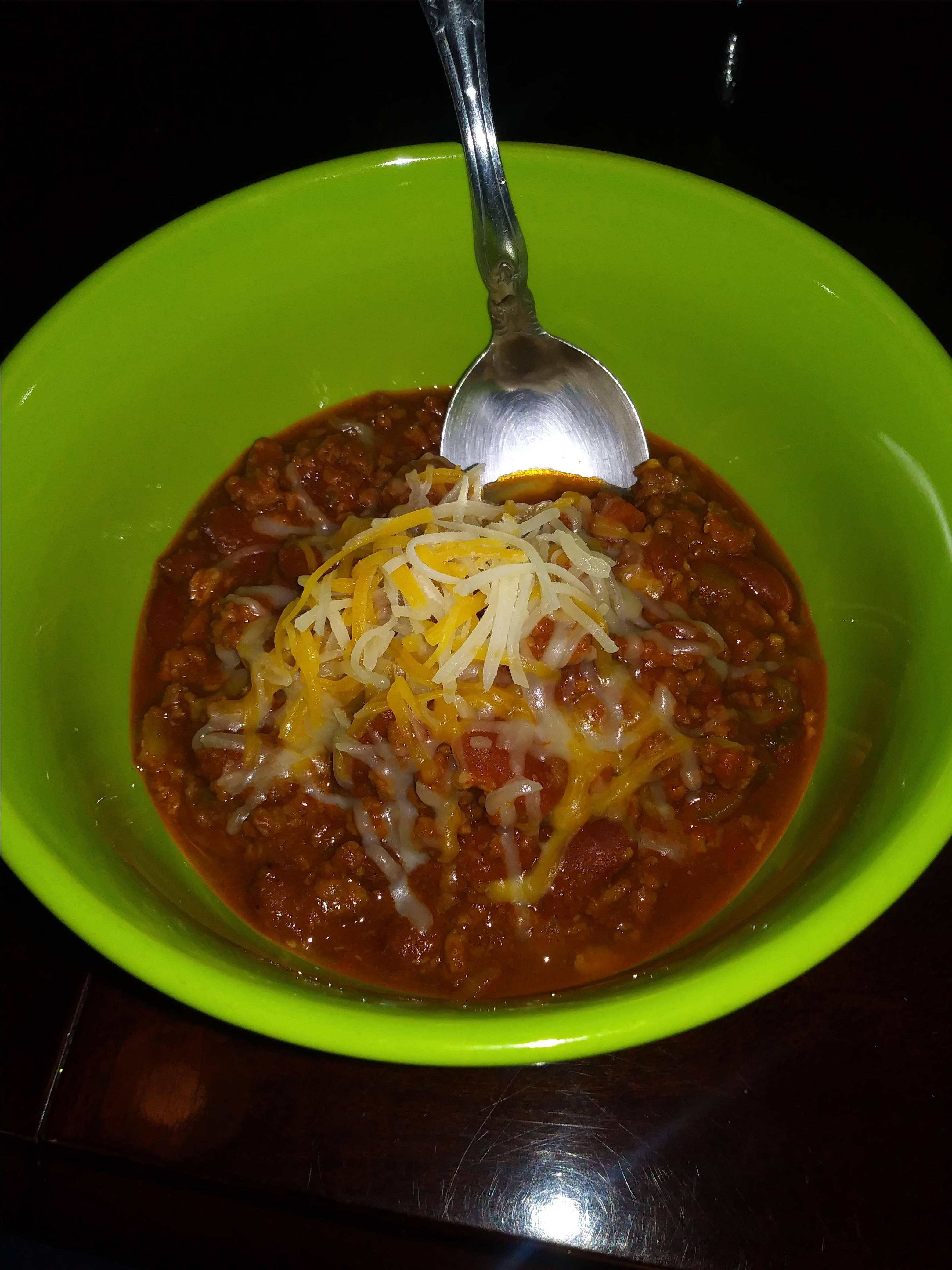 Spicy Slow-Cooked Beanless Chili