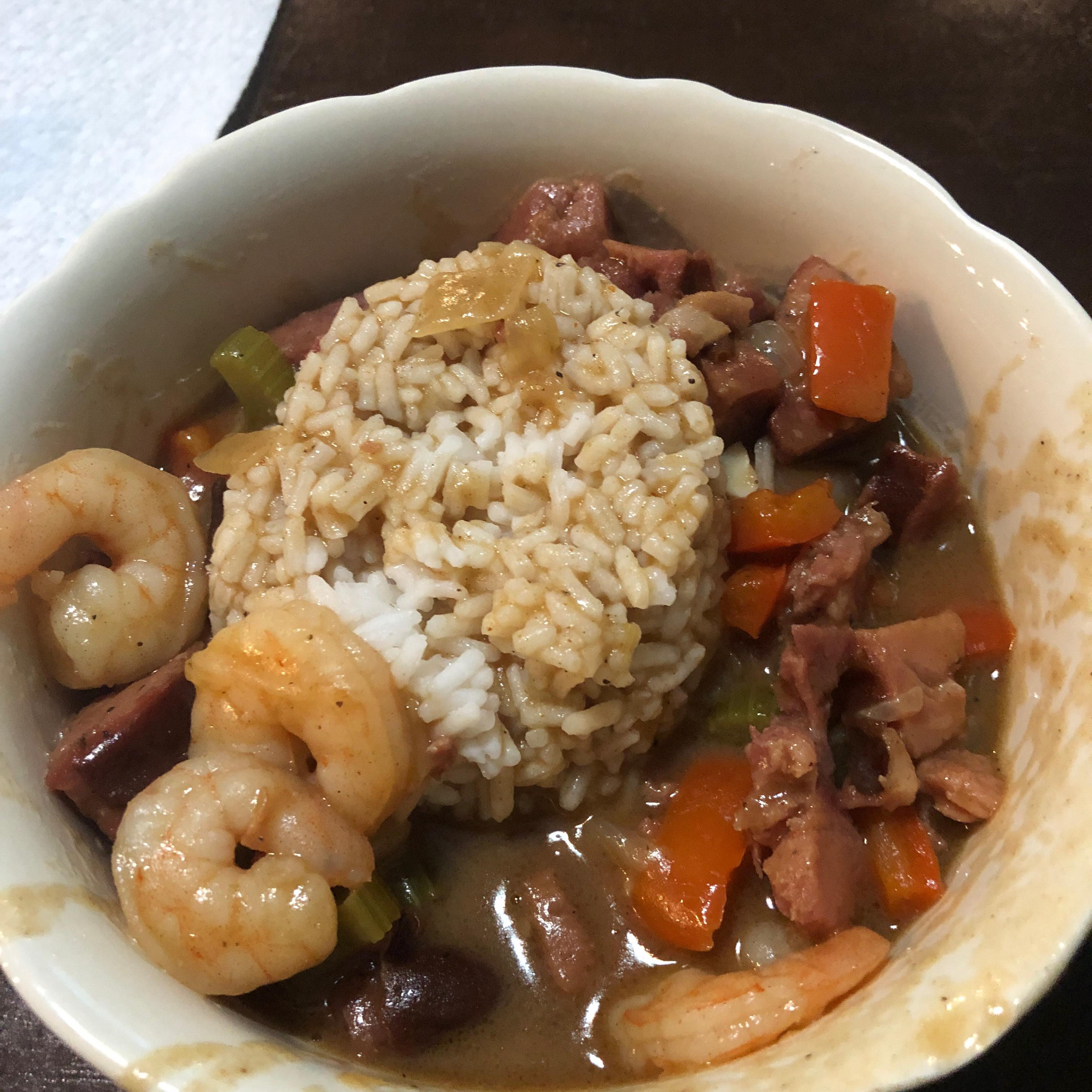 Easy Sausage and Shrimp Gumbo Cole Kuliak