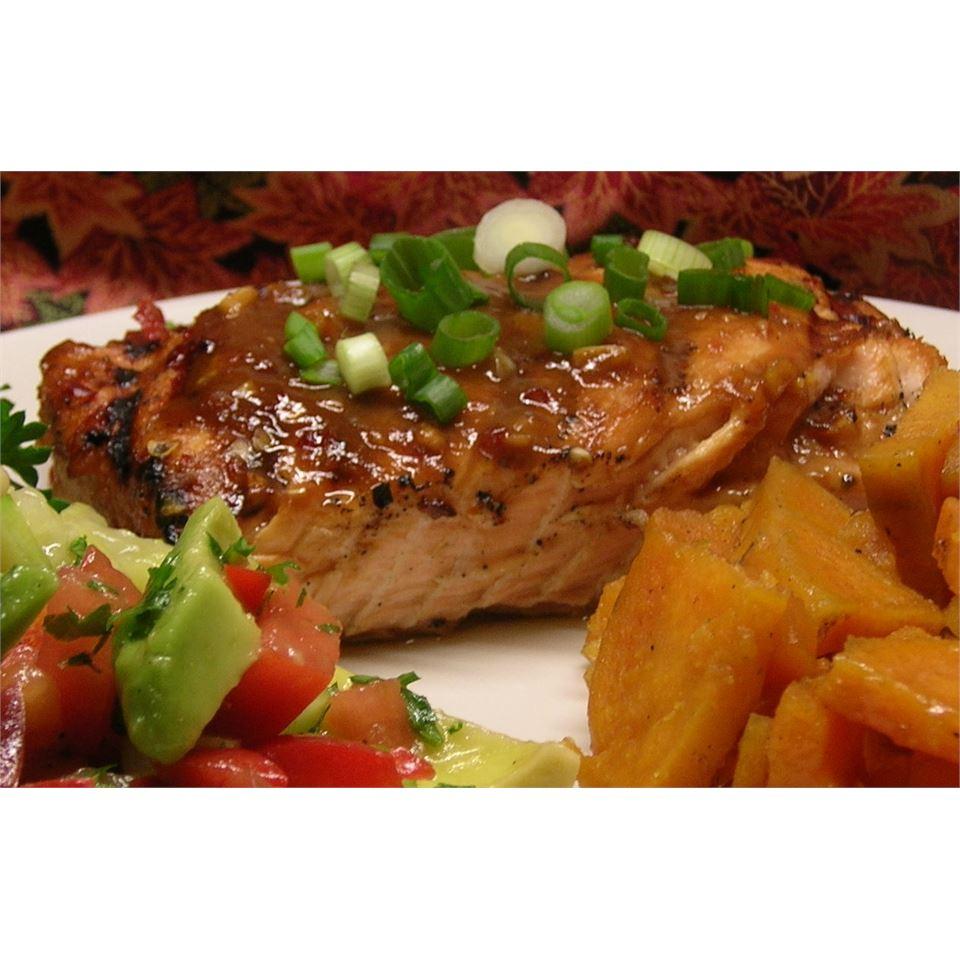Chile Garlic BBQ Salmon