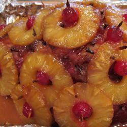 Baked Ham with Sweet Glaze