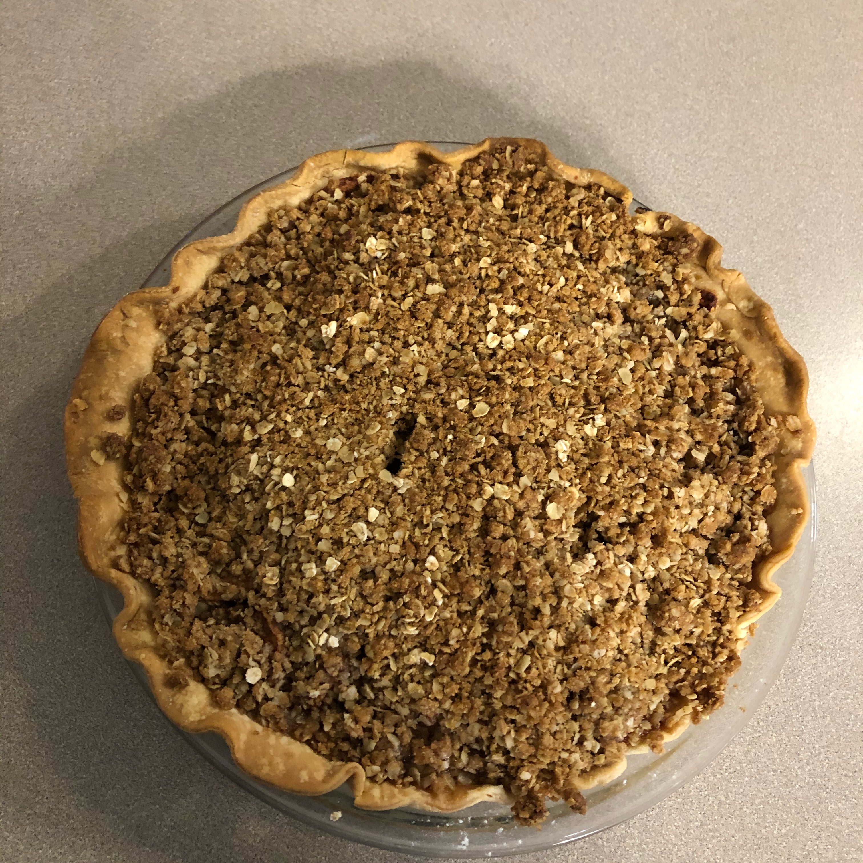 Caramel Apple Crumble Pie Lauren Arpan