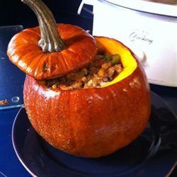 Stuffed Pumpkin II