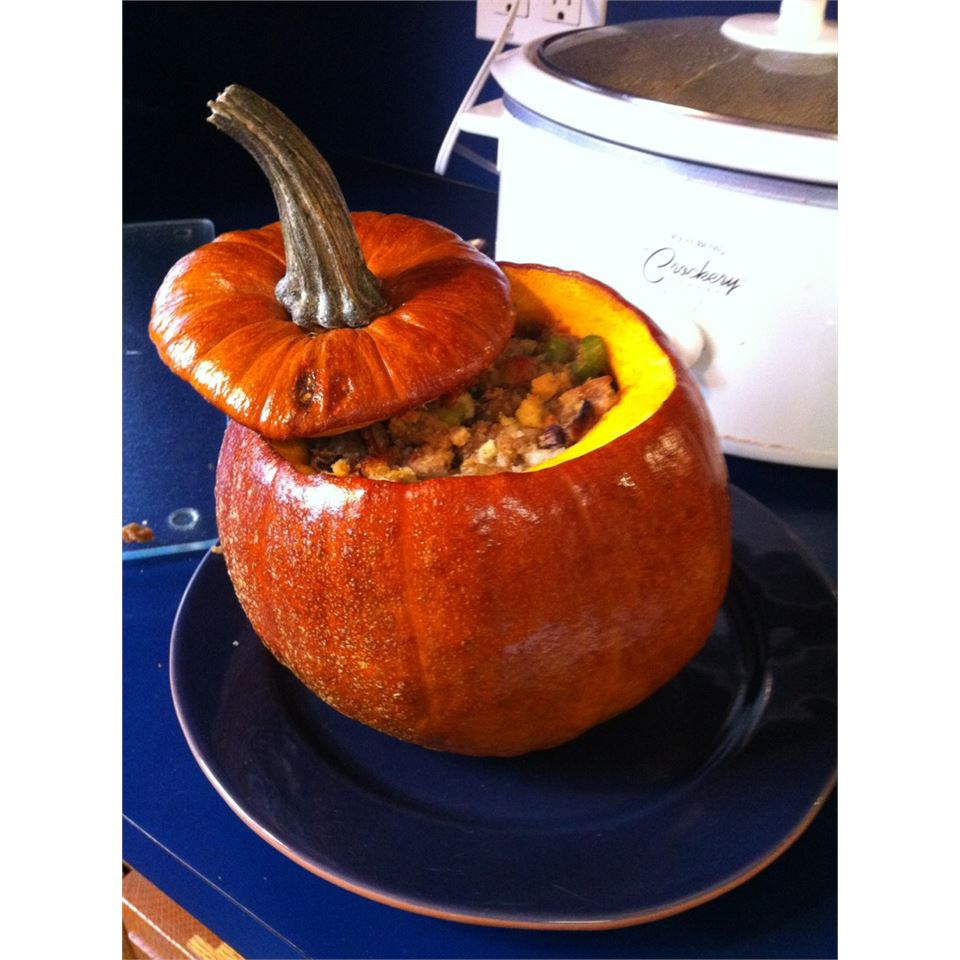 Thanksgiving Stuffed Pumpkin Kathy