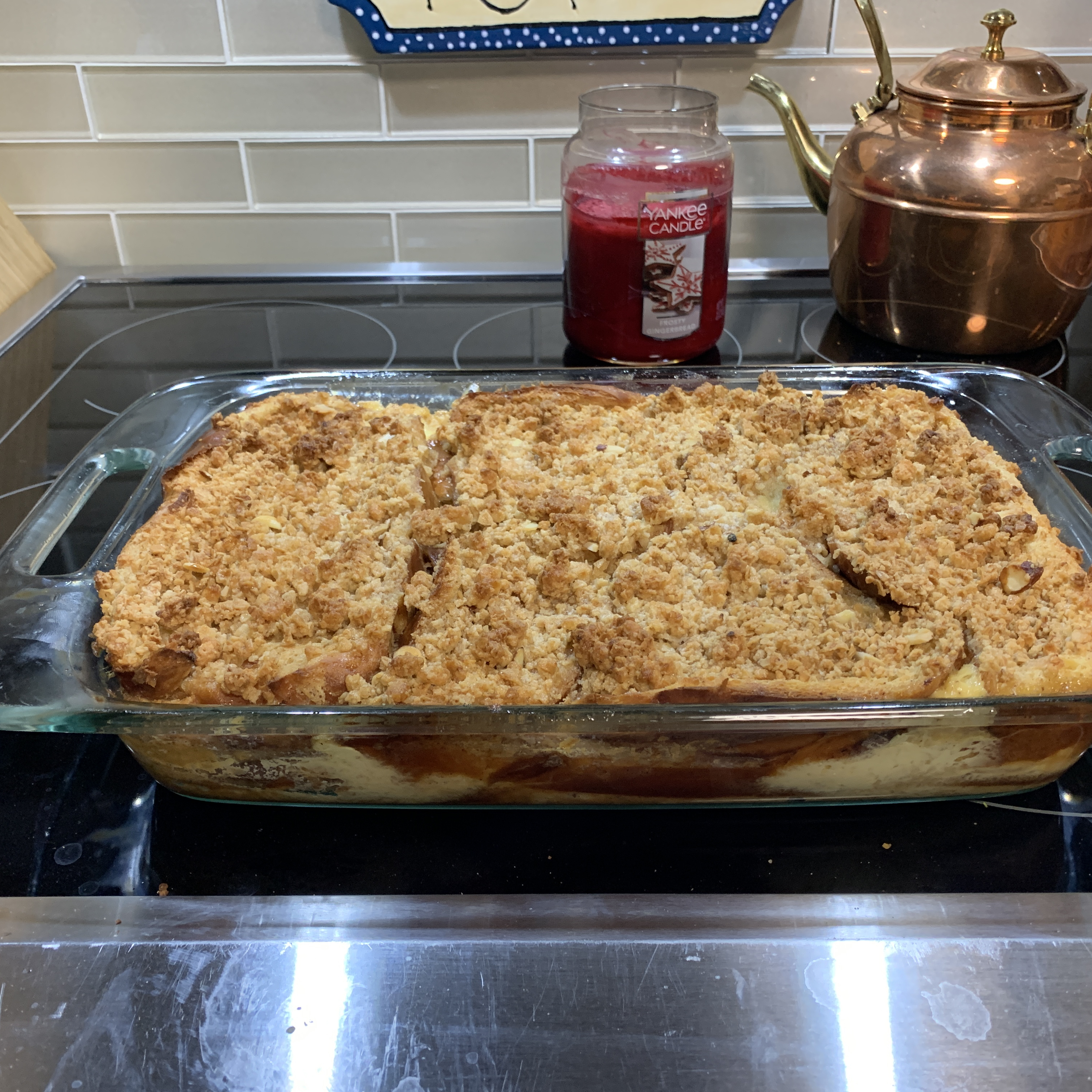 Baked French Toast With Maple Syrup and Granola Nwright8